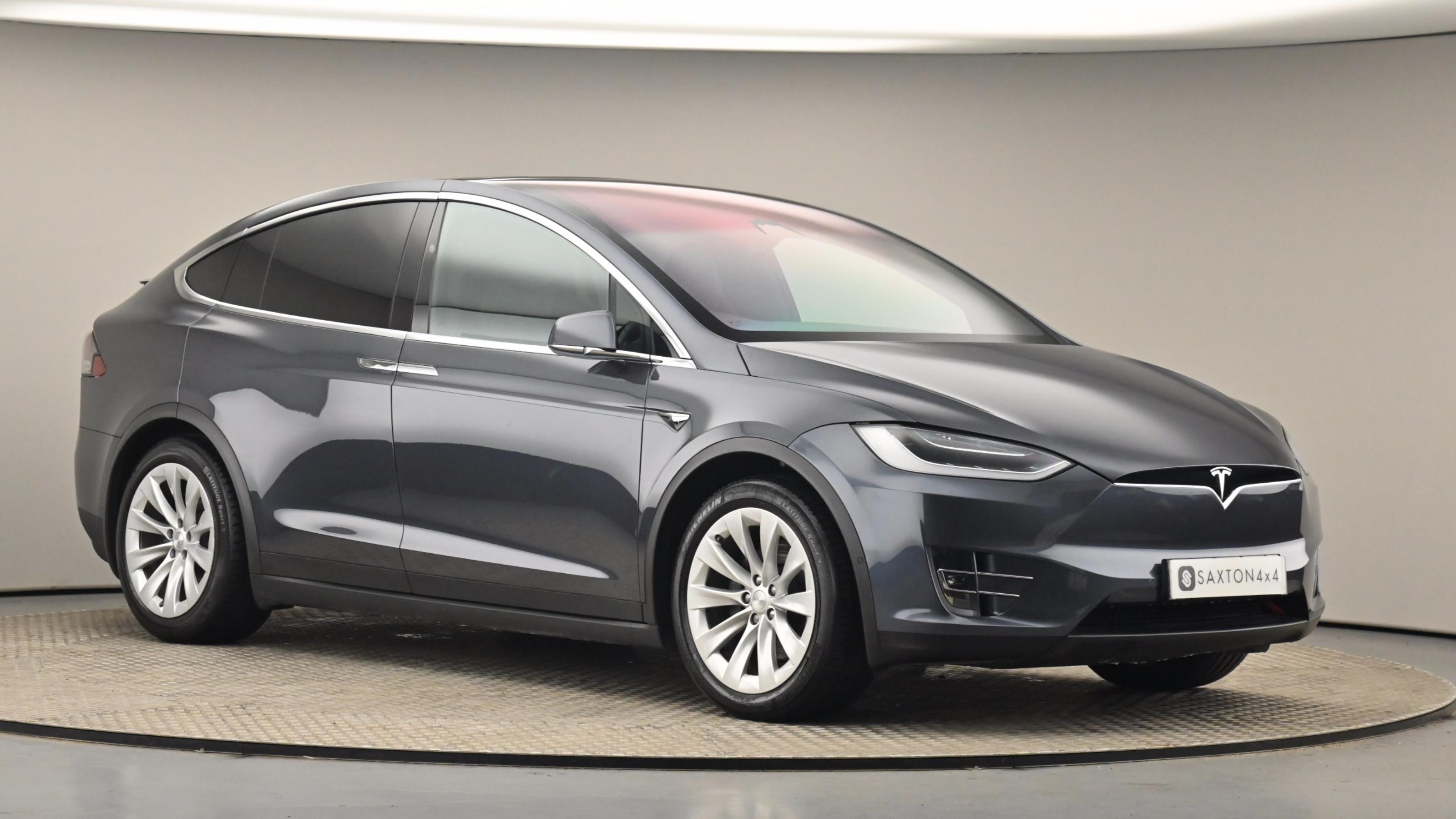 Used 2018 Tesla MODEL X 245kW 75kWh Dual Motor 5dr Auto GREY at Saxton4x4