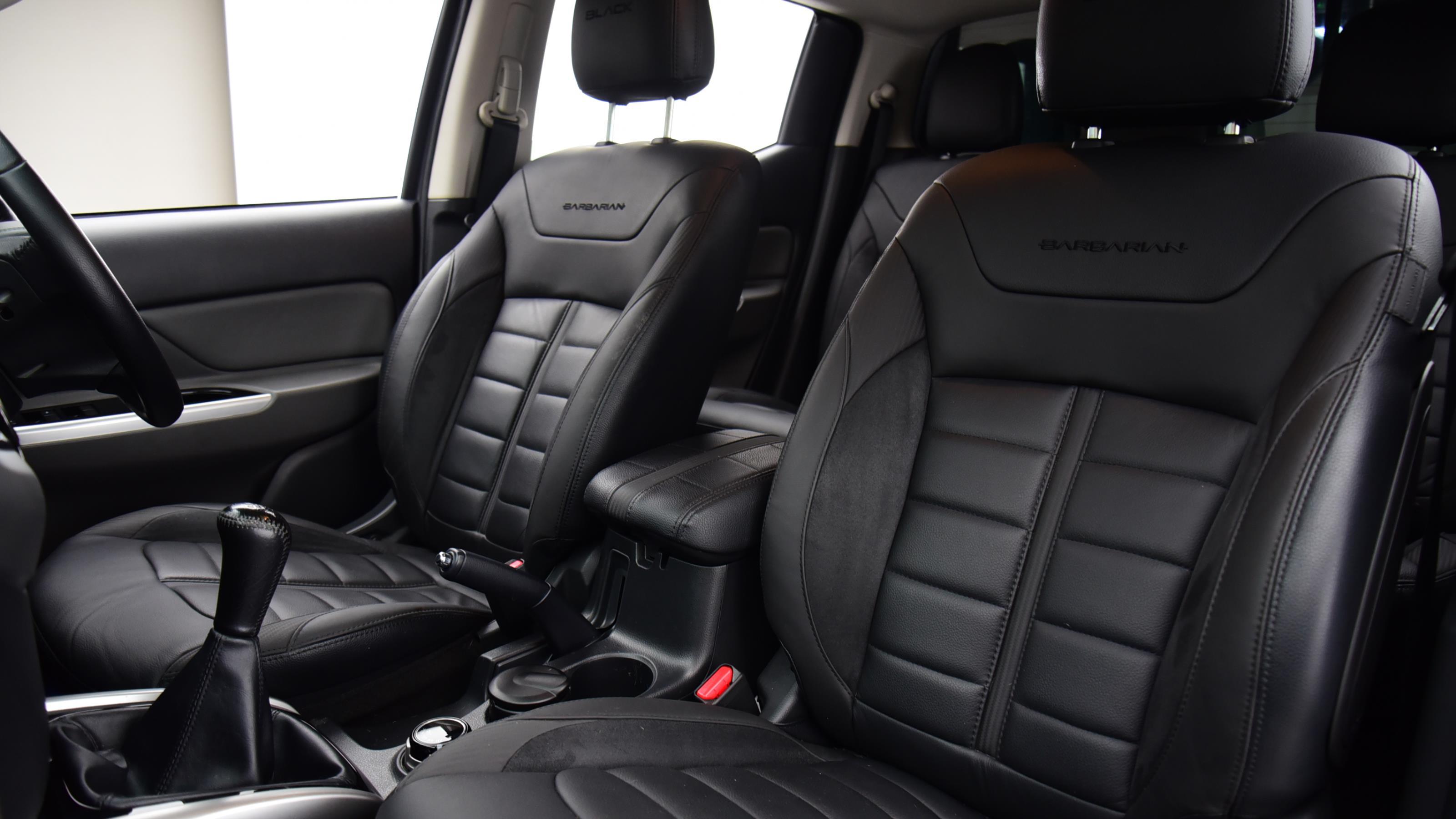Used 2019 MITSUBISHI L200  SPECIAL EDITIONS Double Cab DI-D 181 Barbarian Black 4WD GREY at Saxton4x4