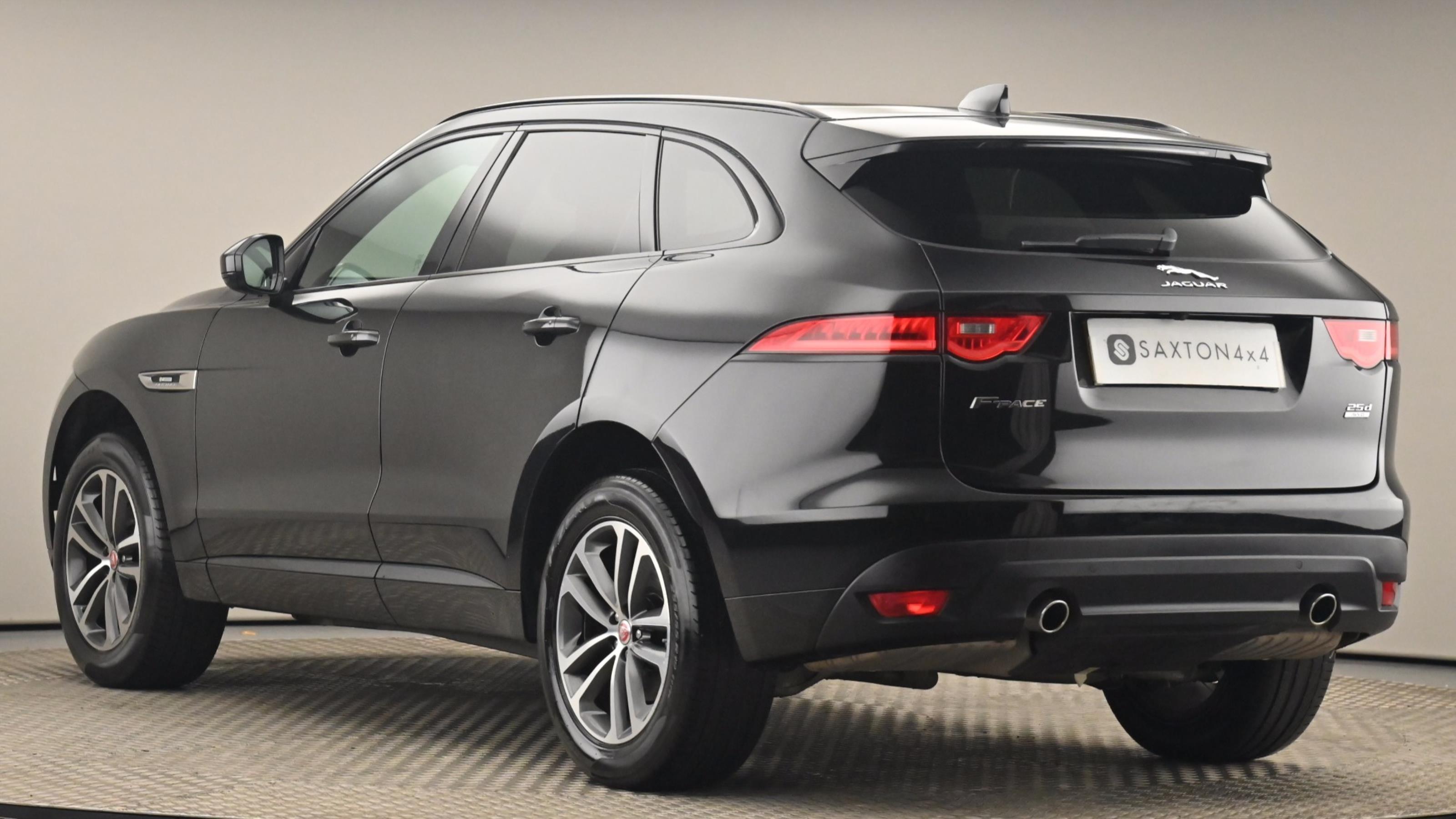 Used 2018 Jaguar F-PACE 2.0d [240] R-Sport 5dr Auto AWD BLACK at Saxton4x4
