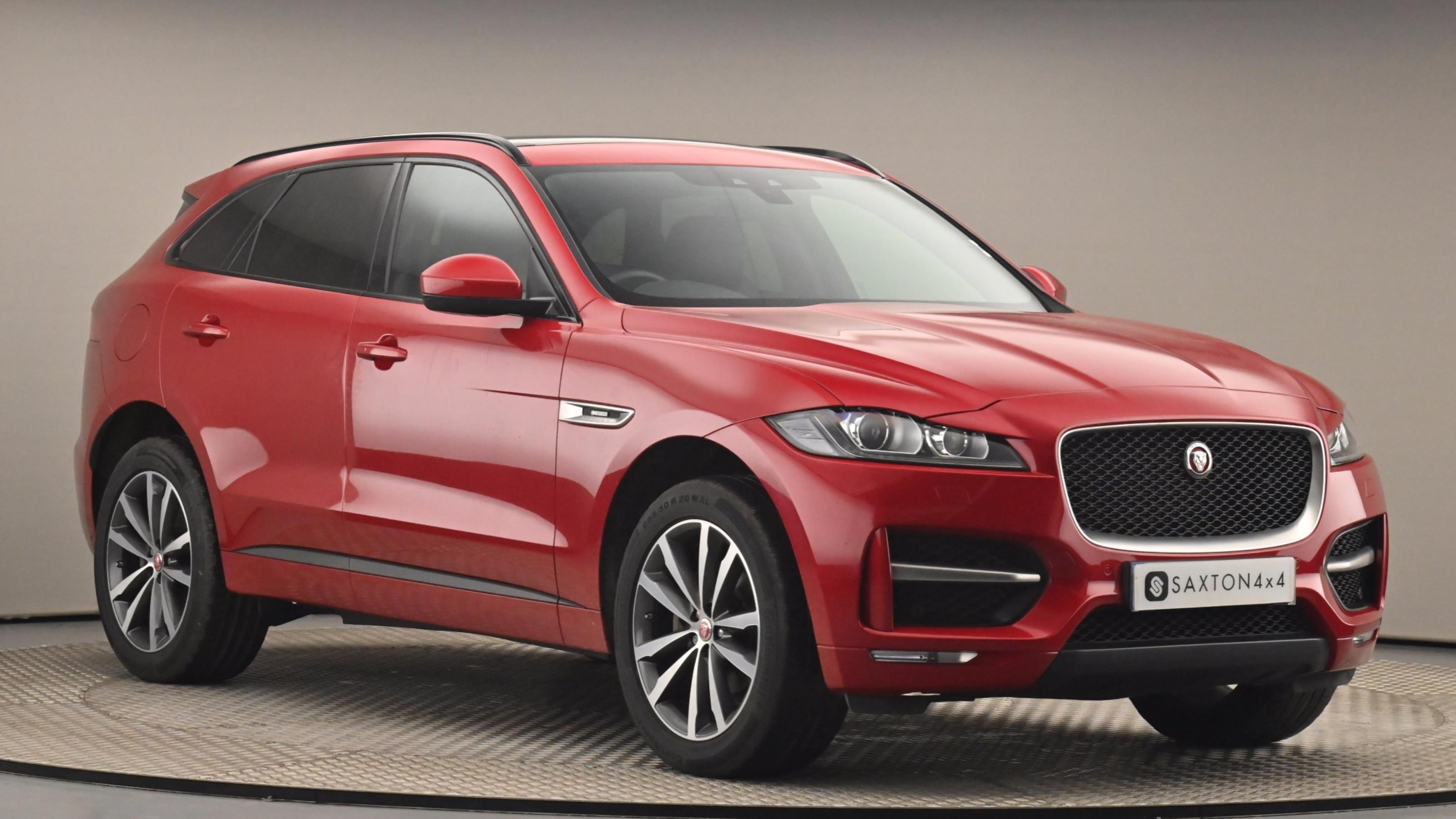 Used 2018 Jaguar F-PACE 2.0d [240] R-Sport 5dr Auto AWD RED at Saxton4x4