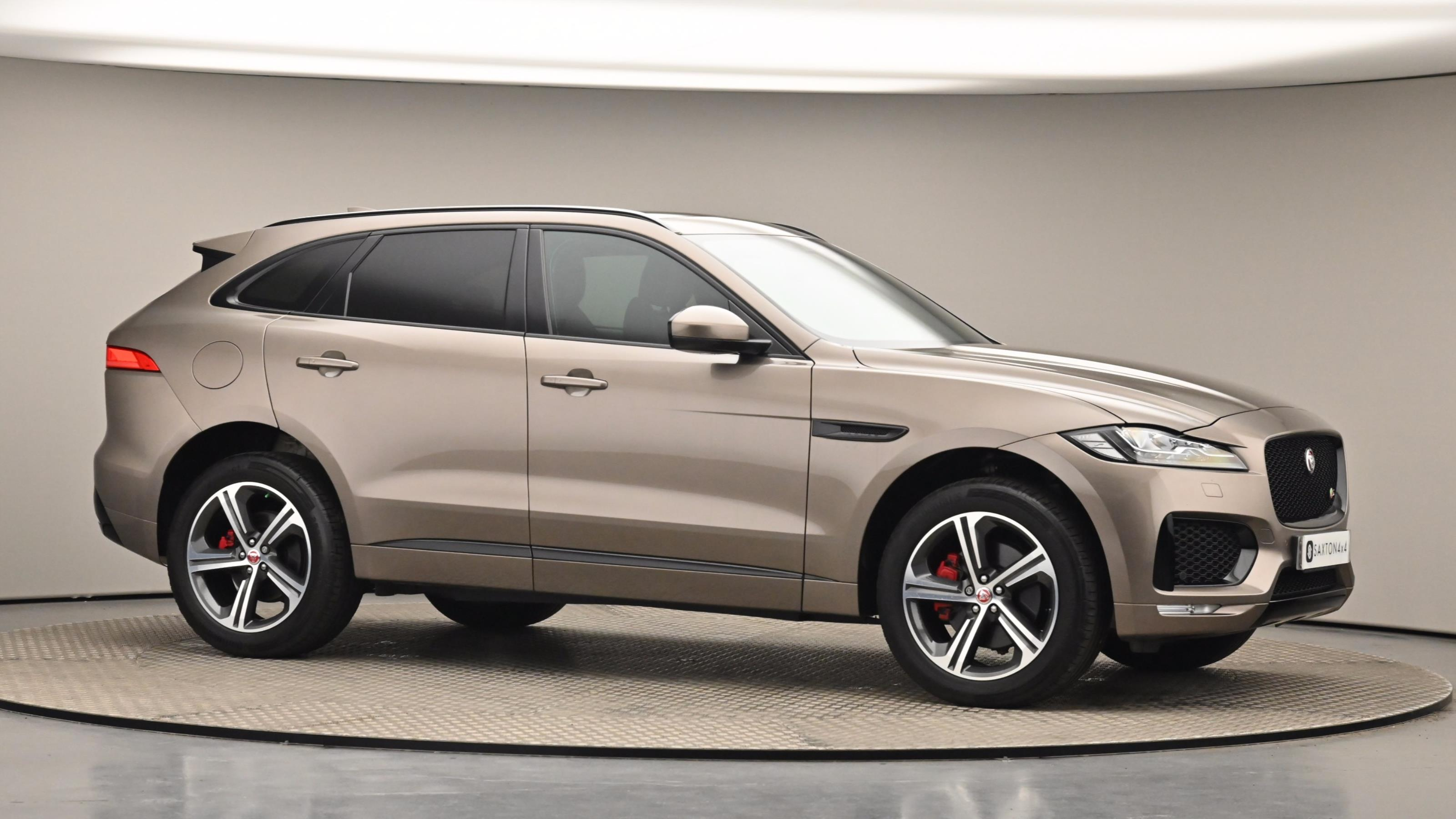Used 2016 Jaguar F-PACE 3.0 Supercharged V6 S 5dr Auto AWD Brown at Saxton4x4