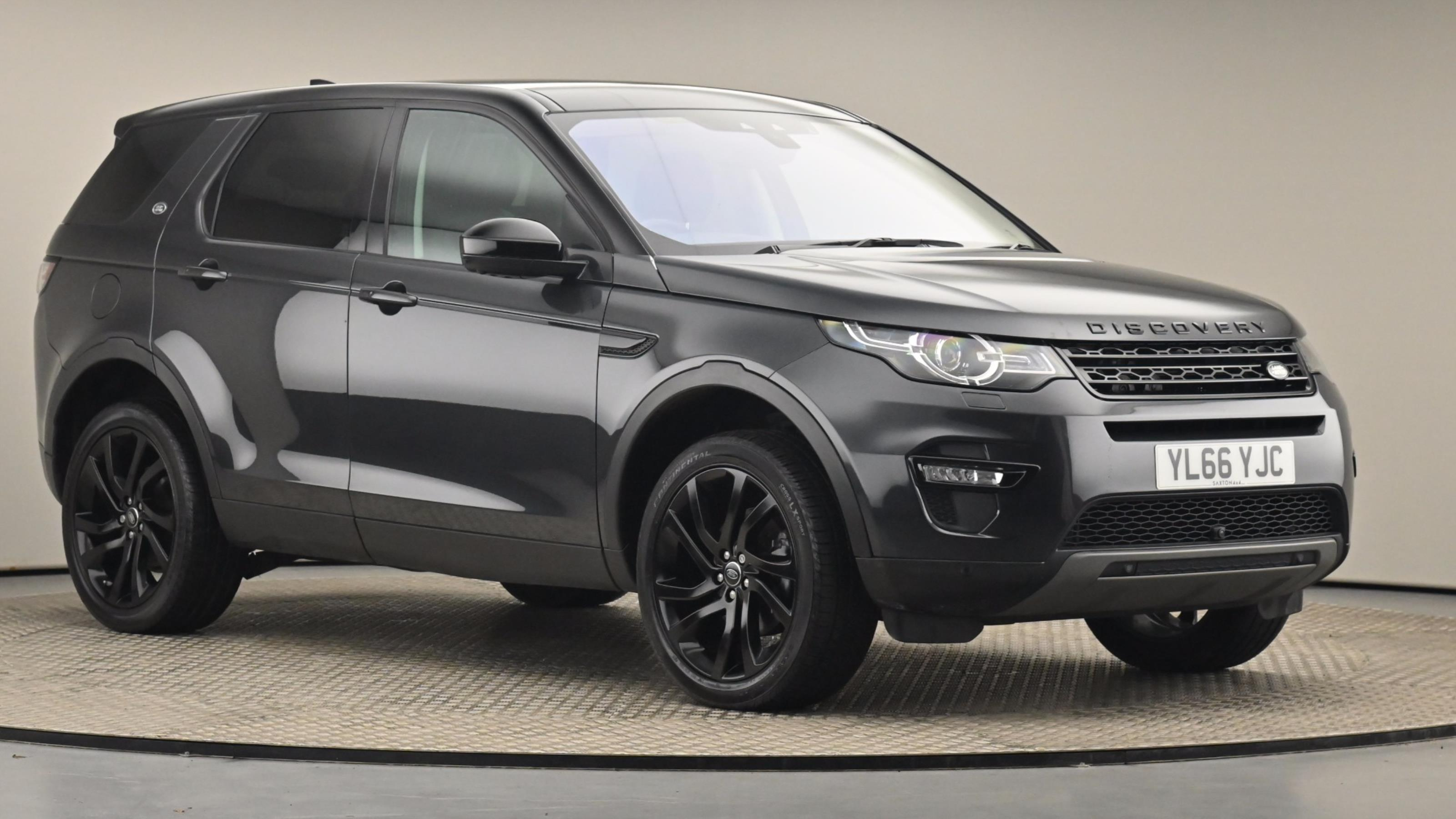 Used 2017 Land Rover DISCOVERY SPORT 2.0 TD4 180 HSE Black 5dr Auto at Saxton4x4