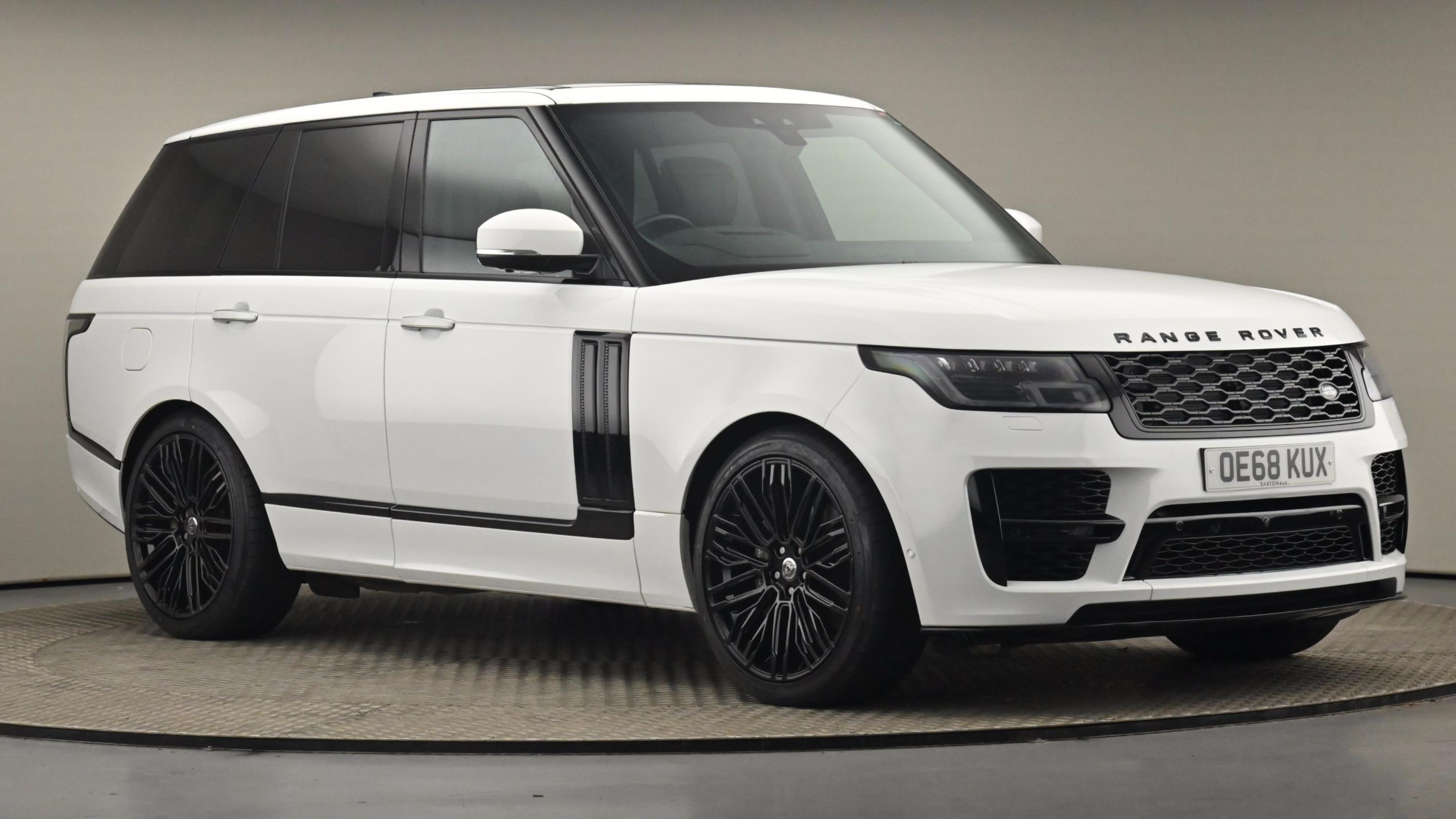 Used 2018 Land Rover RANGE ROVER 4.4 SDV8 Autobiography 4dr Auto WHITE at Saxton4x4