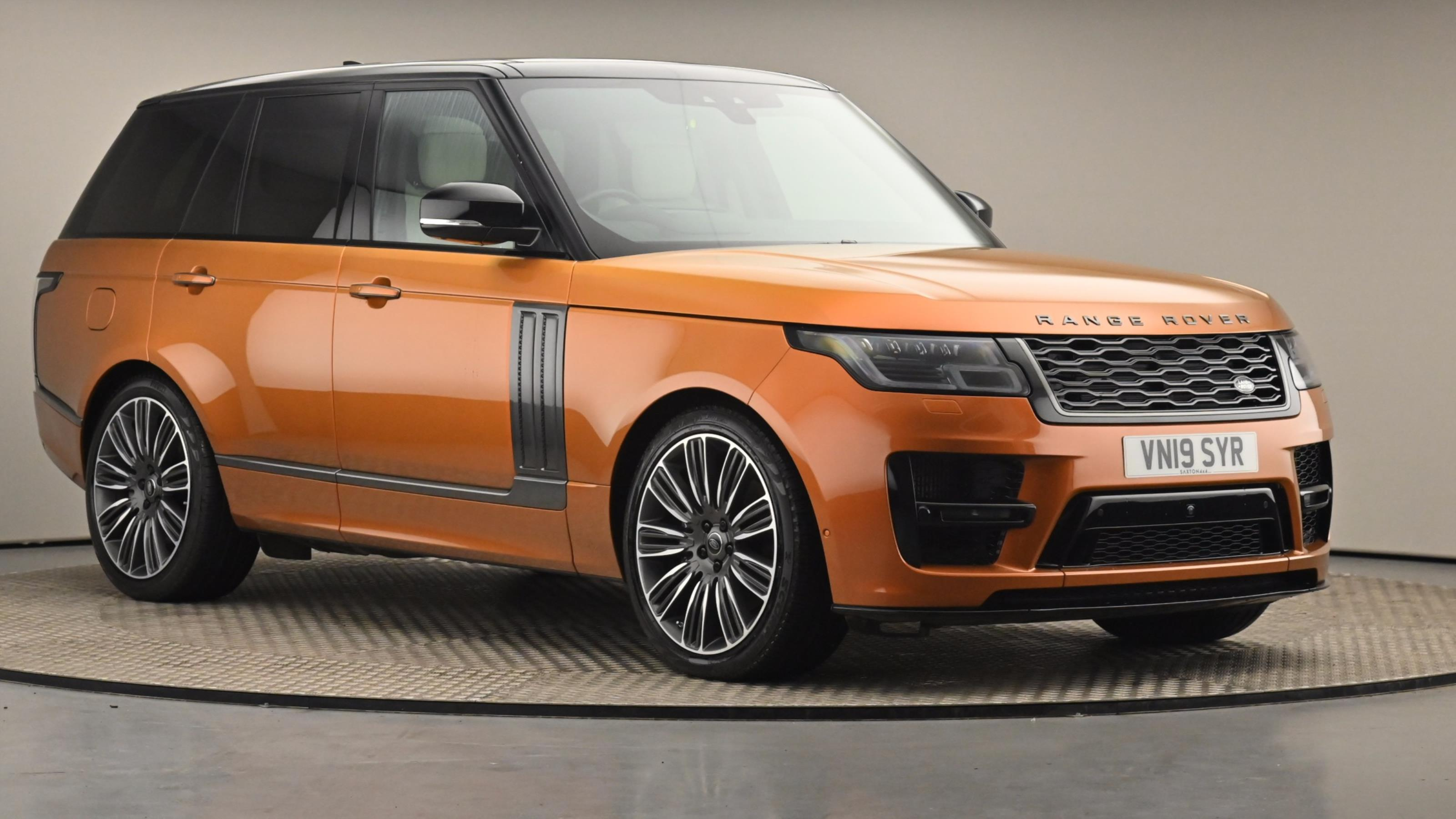 Used 2019 Land Rover RANGE ROVER 4.4 SDV8 Autobiography 4dr Auto ORANGE at Saxton4x4