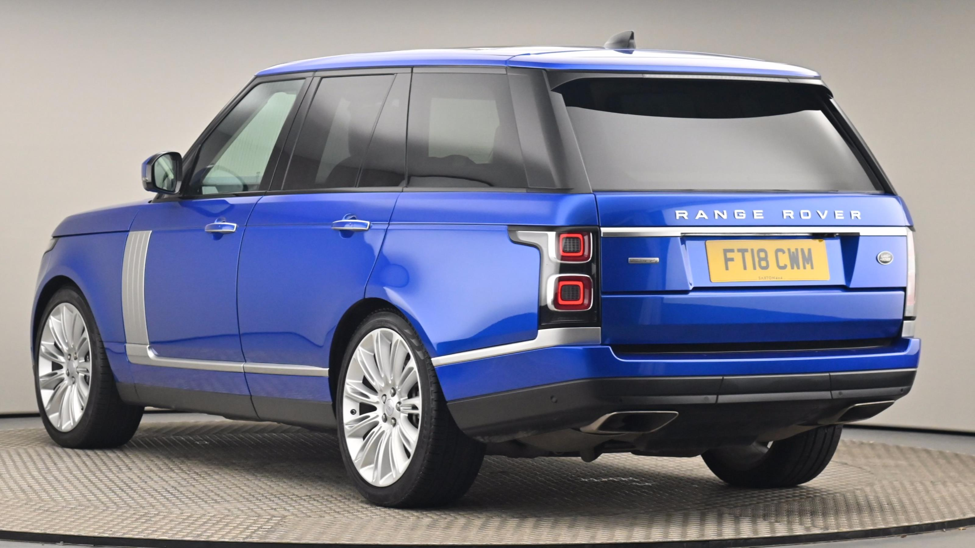 Used 2018 Land Rover RANGE ROVER 4.4 SDV8 Autobiography 4dr Auto BLUE at Saxton4x4