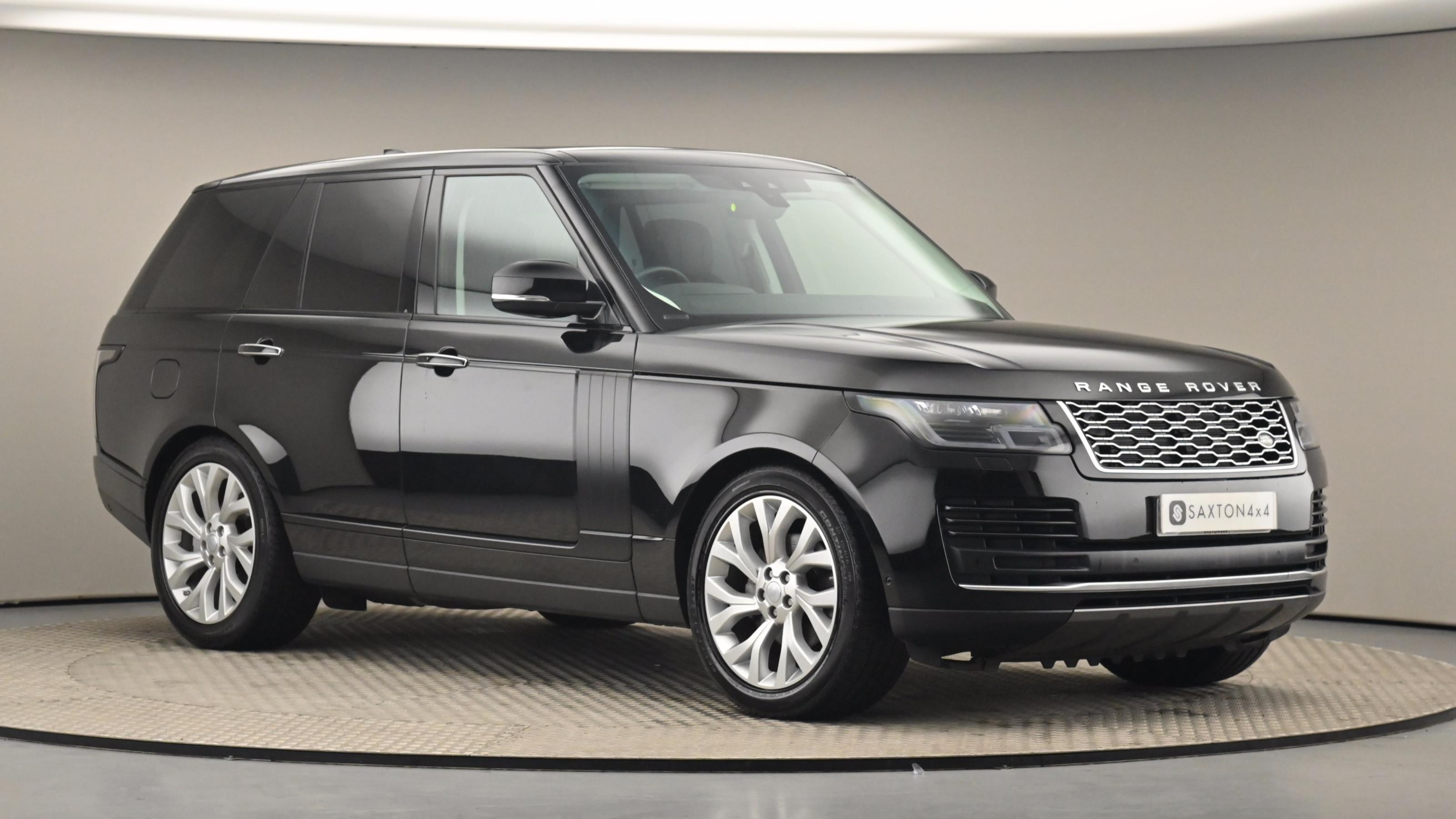 Used 2018 Land Rover RANGE ROVER 3.0 SDV6 Vogue SE 4dr Auto BLACK at Saxton4x4