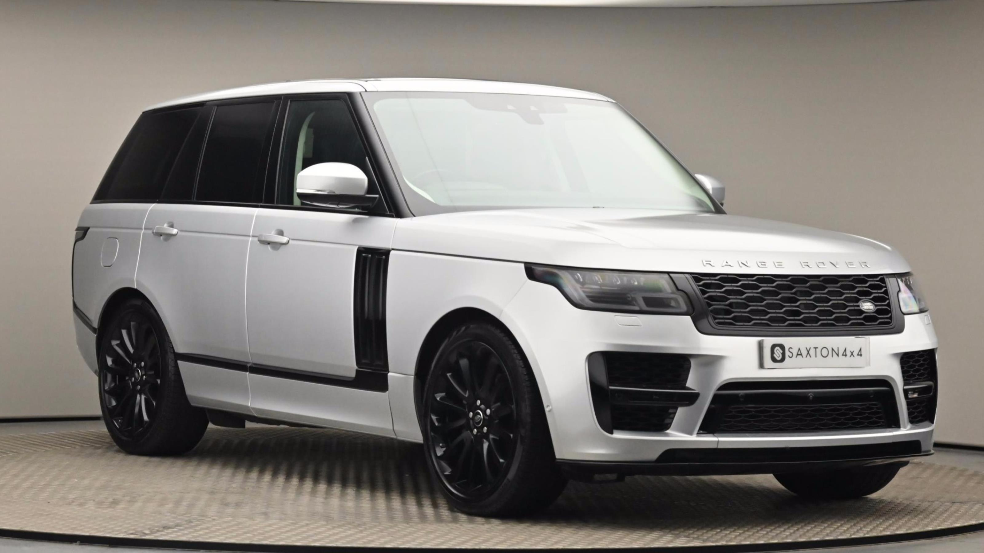Used 2018 Land Rover RANGE ROVER 3.0 TDV6 Autobiography 4dr Auto SILVER at Saxton4x4