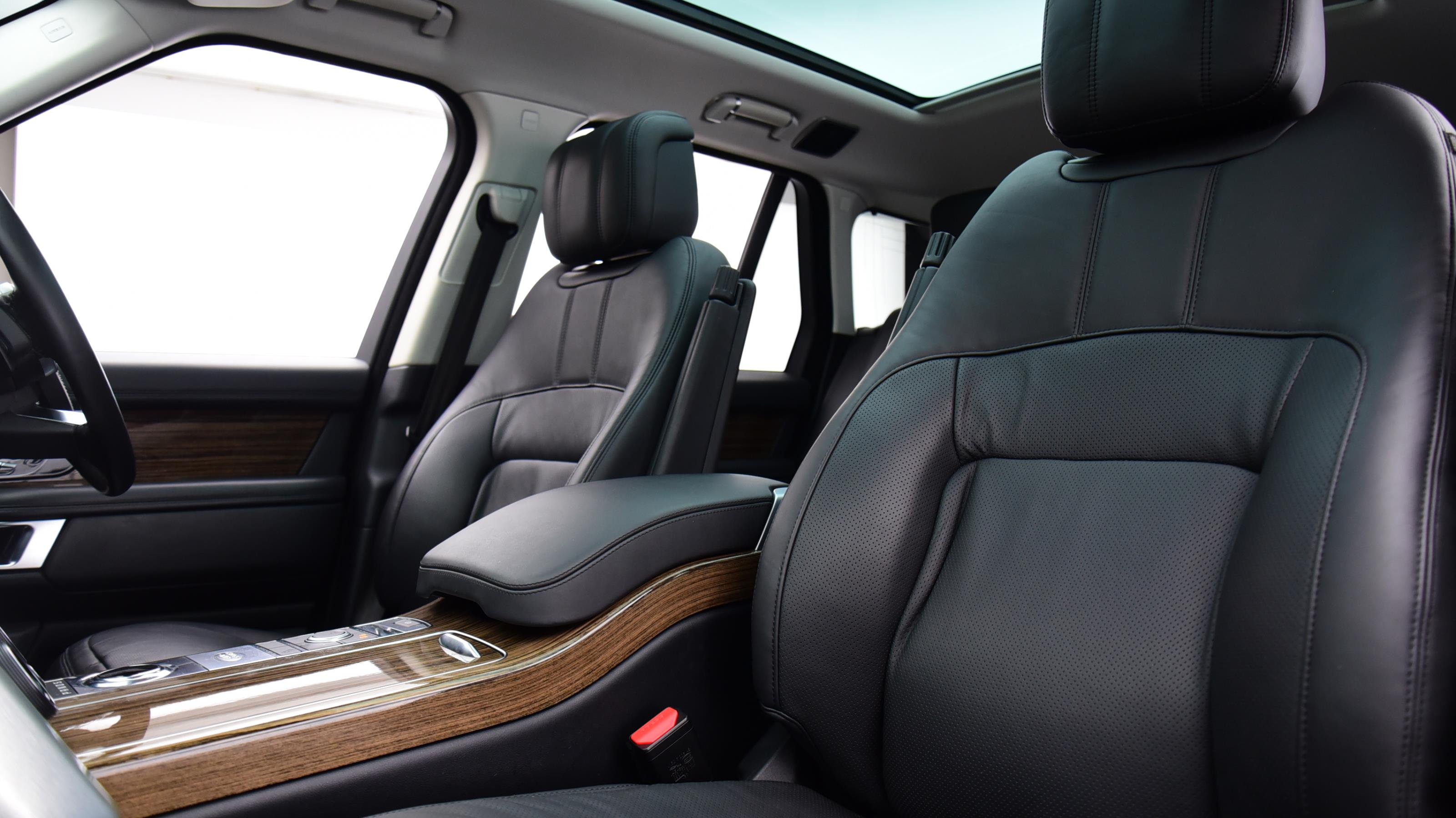 Used 2018 Land Rover RANGE ROVER 3.0 TDV6 Vogue 4dr Auto BLACK at Saxton4x4
