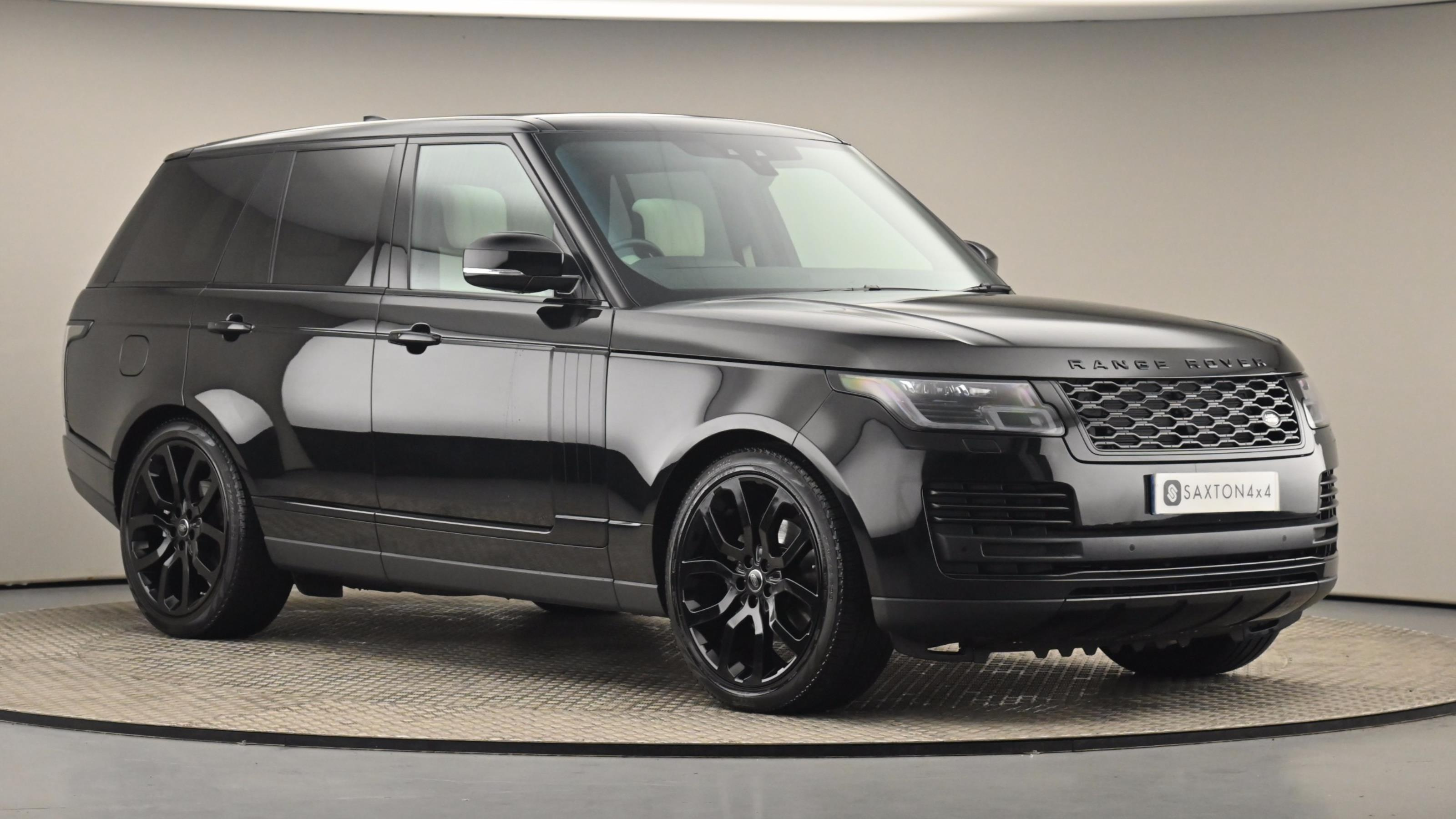 Used 2019 Land Rover RANGE ROVER 3.0 SDV6 Vogue 4dr Auto BLACK at Saxton4x4