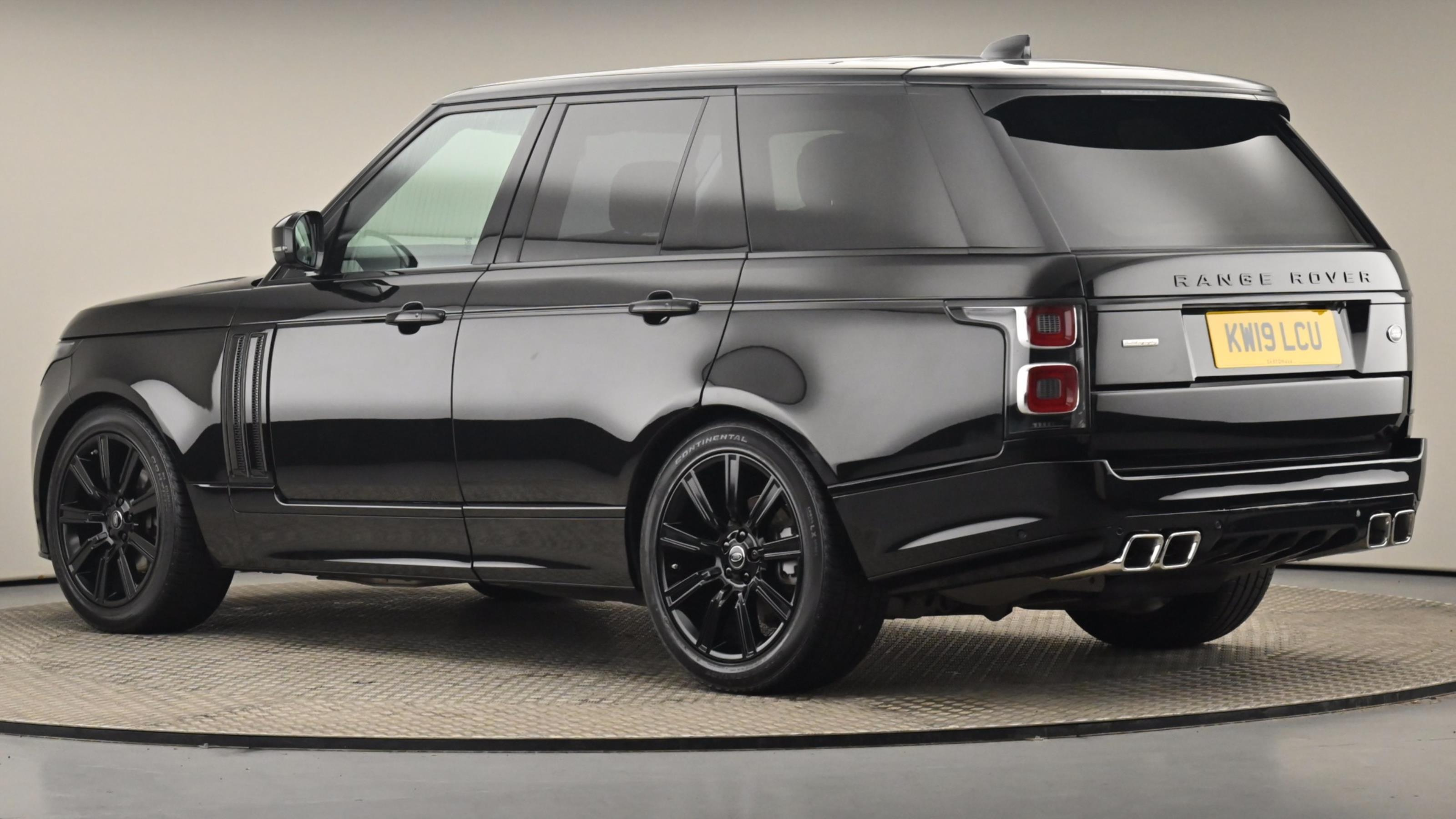 Used 2019 Land Rover RANGE ROVER 3.0 SDV6 Autobiography 4dr Auto BLACK at Saxton4x4