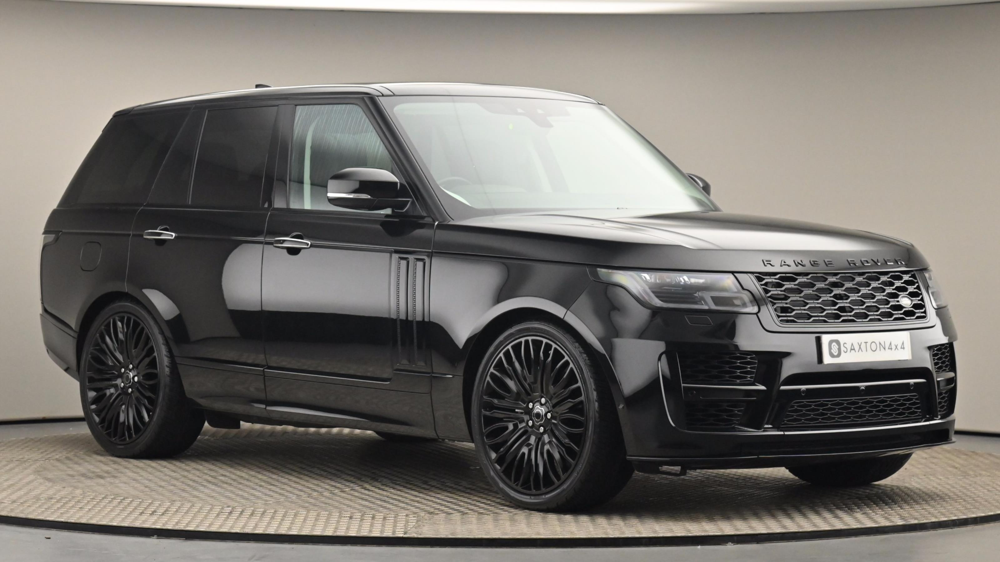 Used 2019 Land Rover RANGE ROVER 3.0 SDV6 Vogue SE 4dr Auto BLACK at Saxton4x4