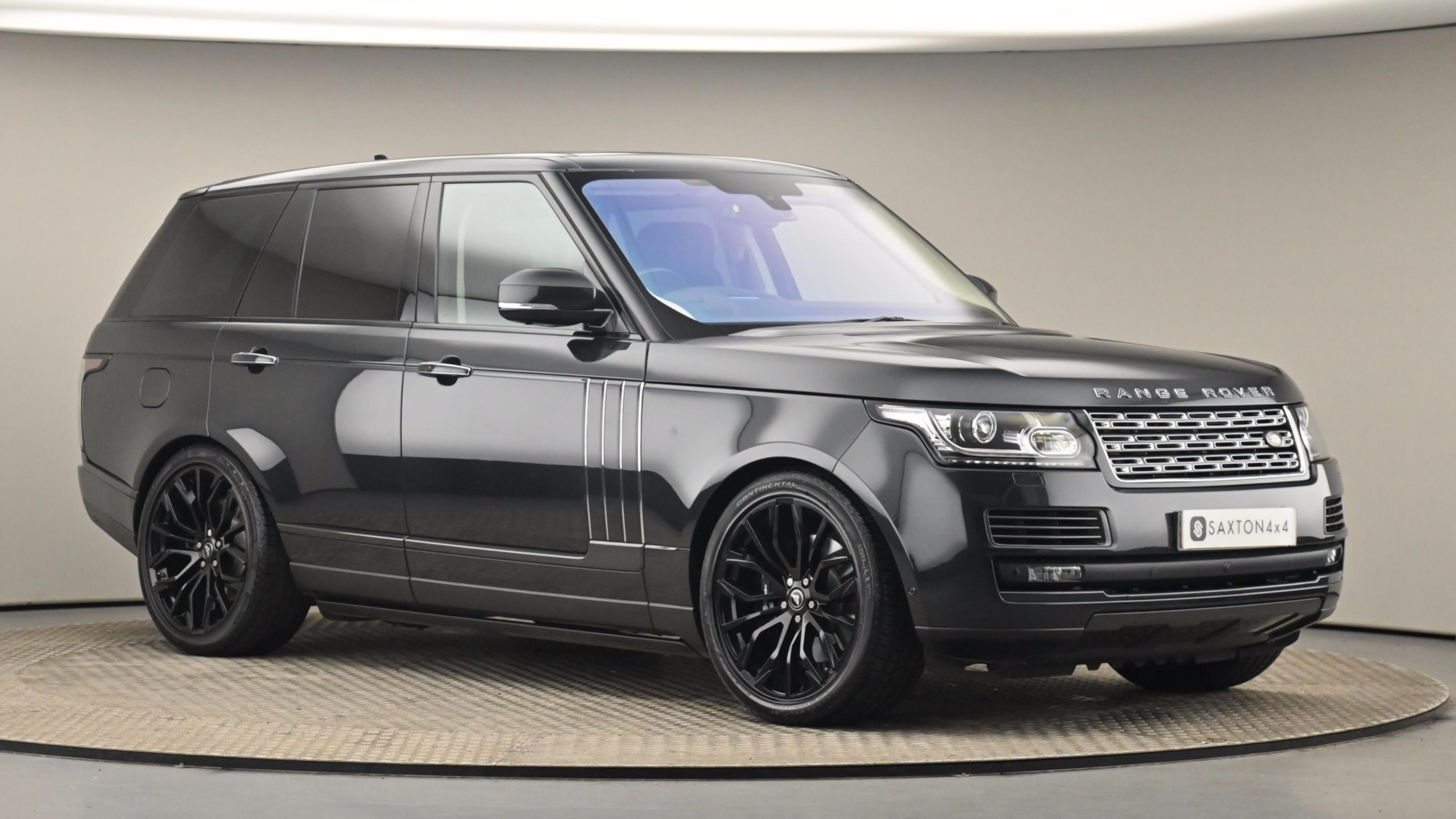 Used 2016 Land Rover RANGE ROVER 5.0 V8 S/C SVAutobiography 4dr Auto BLACK at Saxton4x4