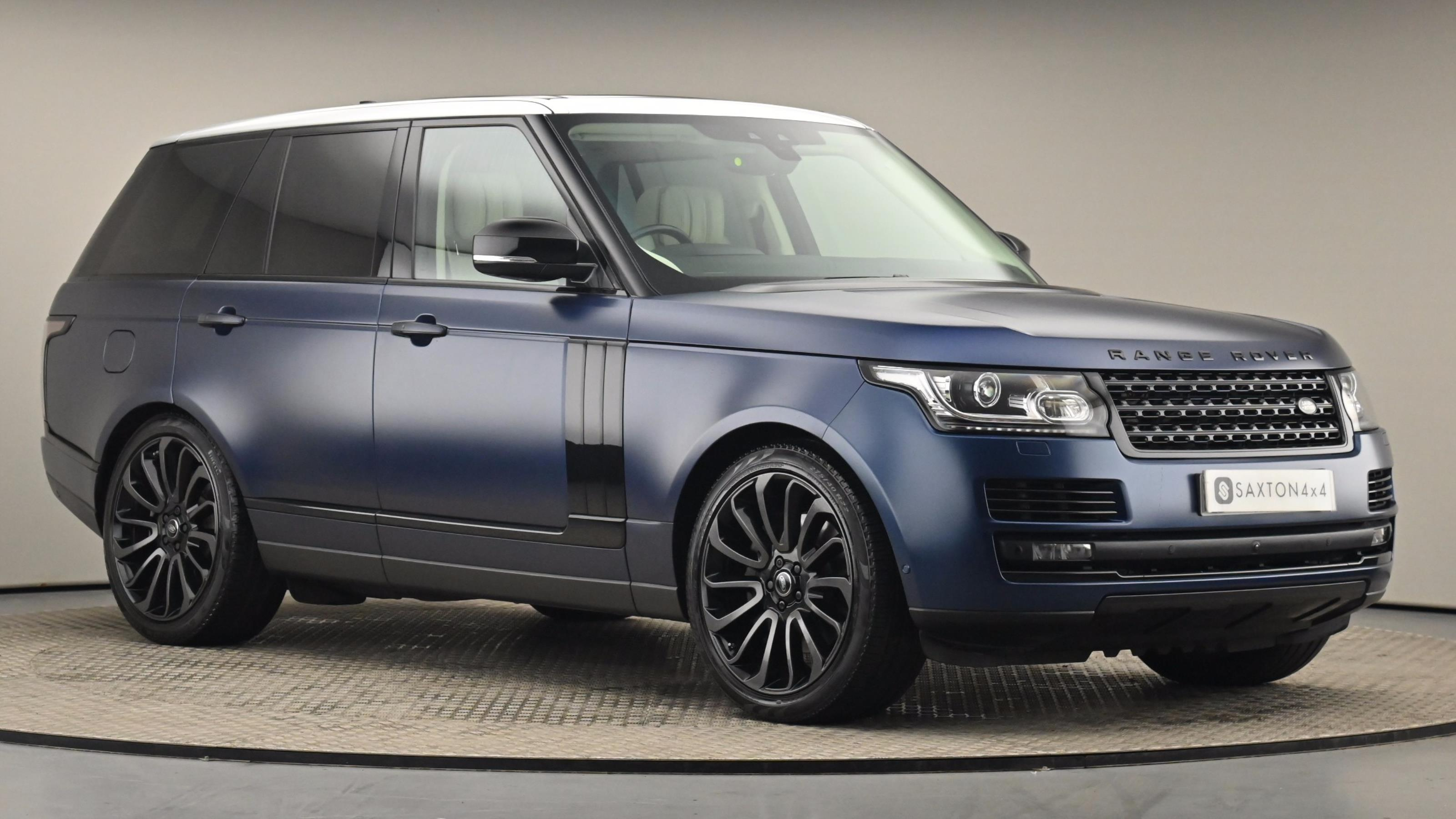 Used 2017 Land Rover RANGE ROVER 5.0 V8 Supercharged Autobiography 4dr Auto [SS] at Saxton4x4