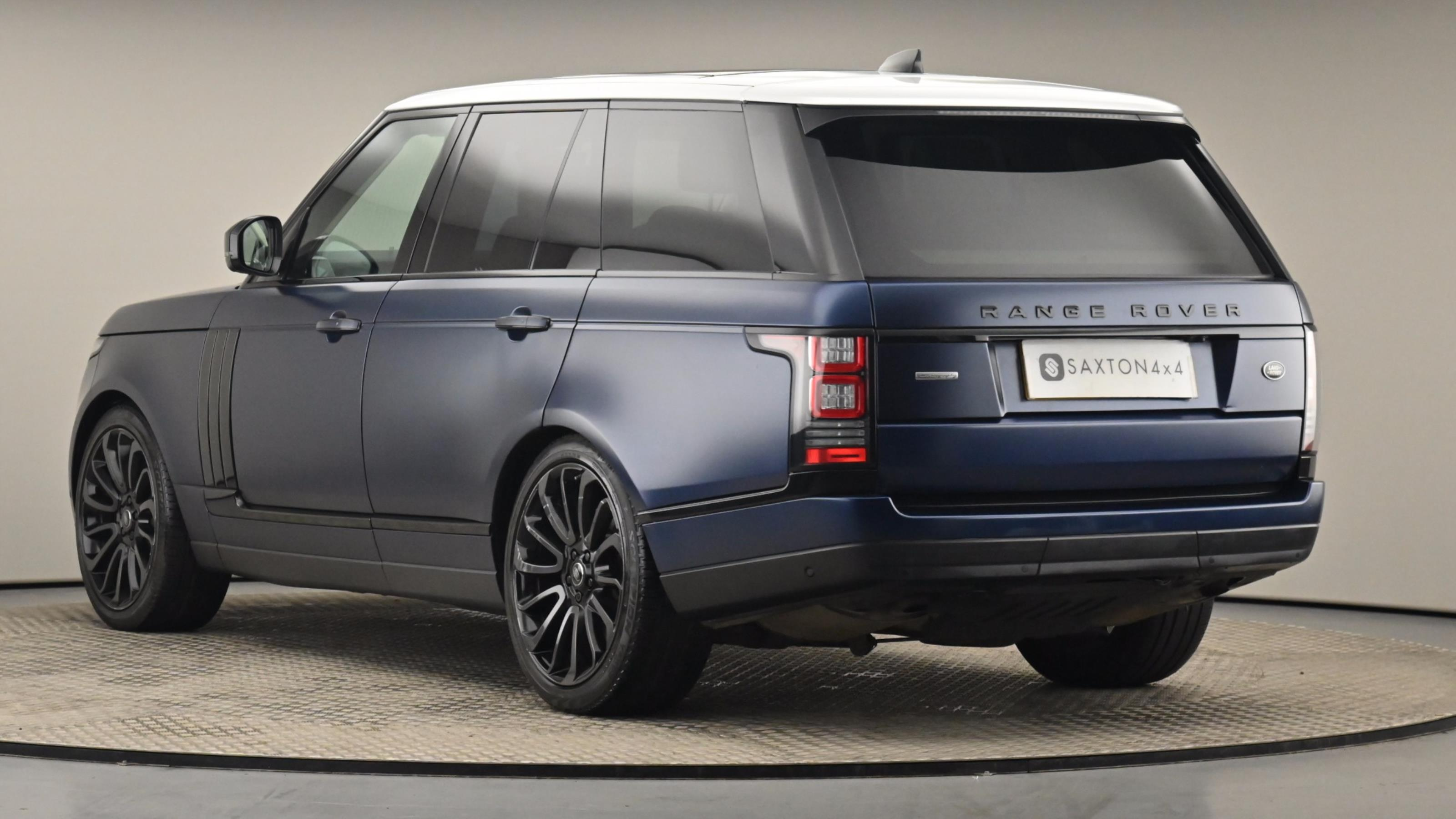 Used 2017 Land Rover RANGE ROVER 5.0 V8 Supercharged Autobiography 4dr Auto [SS] BLUE at Saxton4x4