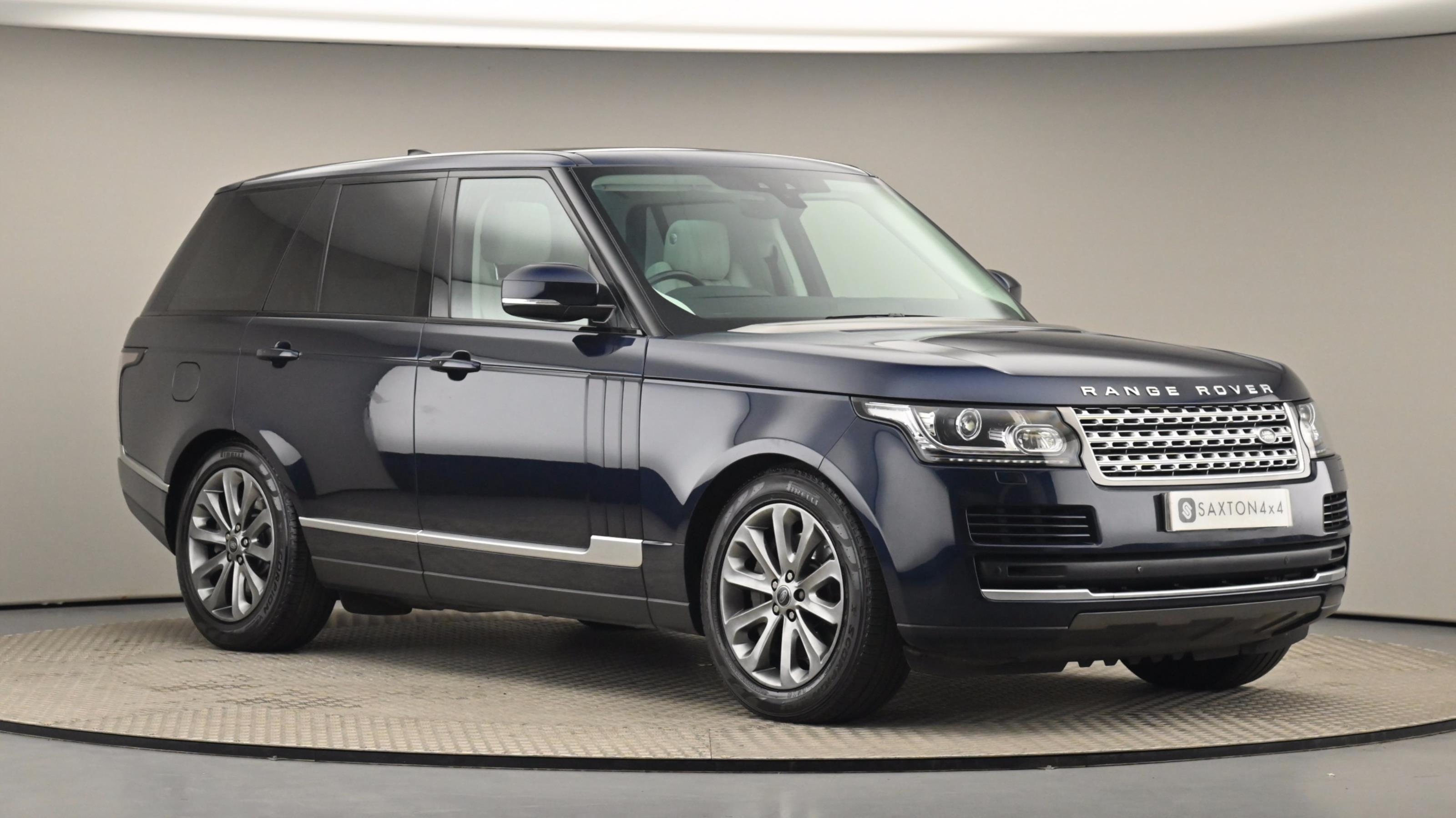 Used 2016 Land Rover RANGE ROVER 4.4 SDV8 Vogue 4dr Auto BLUE at Saxton4x4