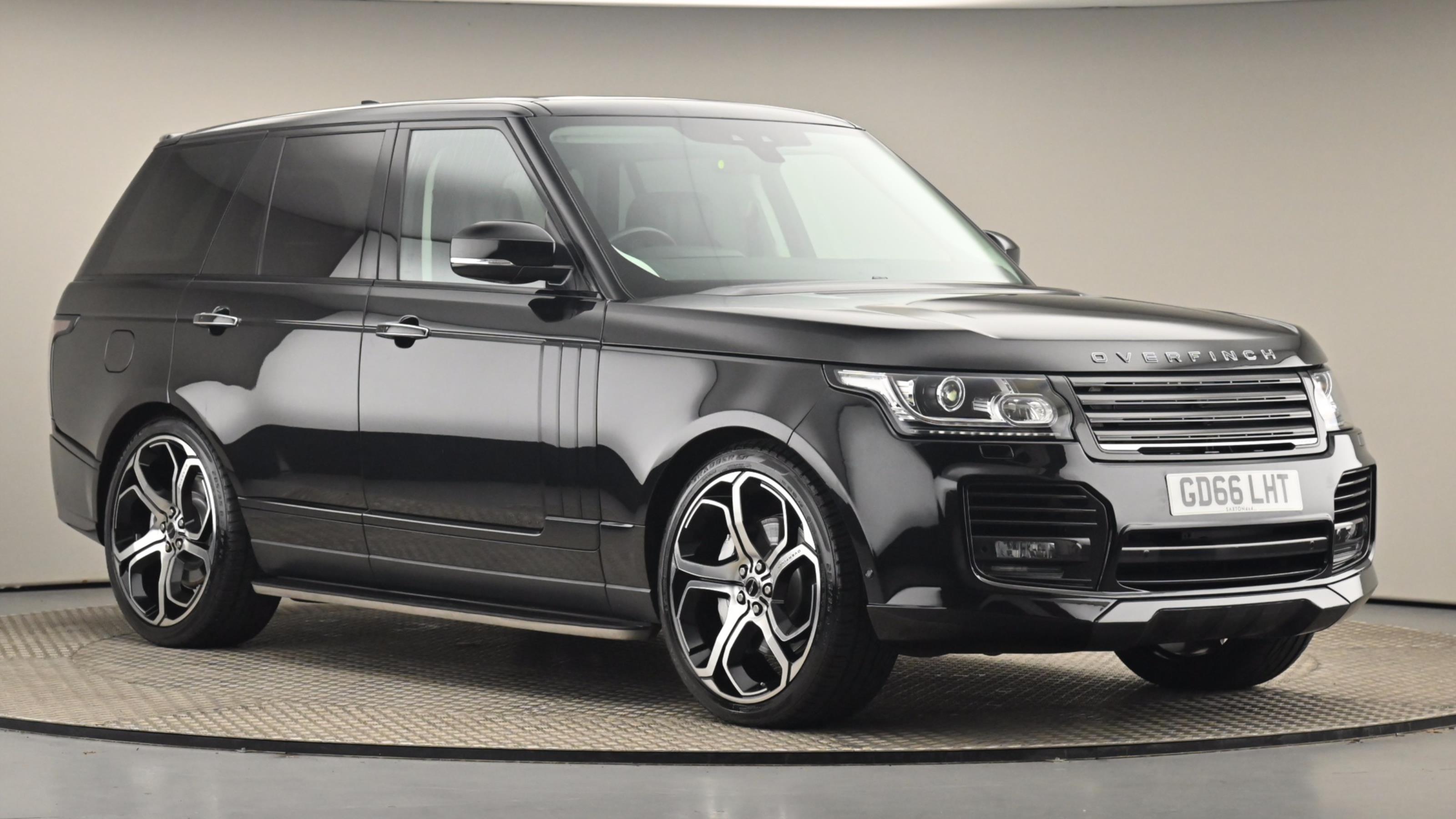 Used 2017 Land Rover RANGE ROVER 4.4 SDV8 Vogue SE 4dr Auto BLACK at Saxton4x4