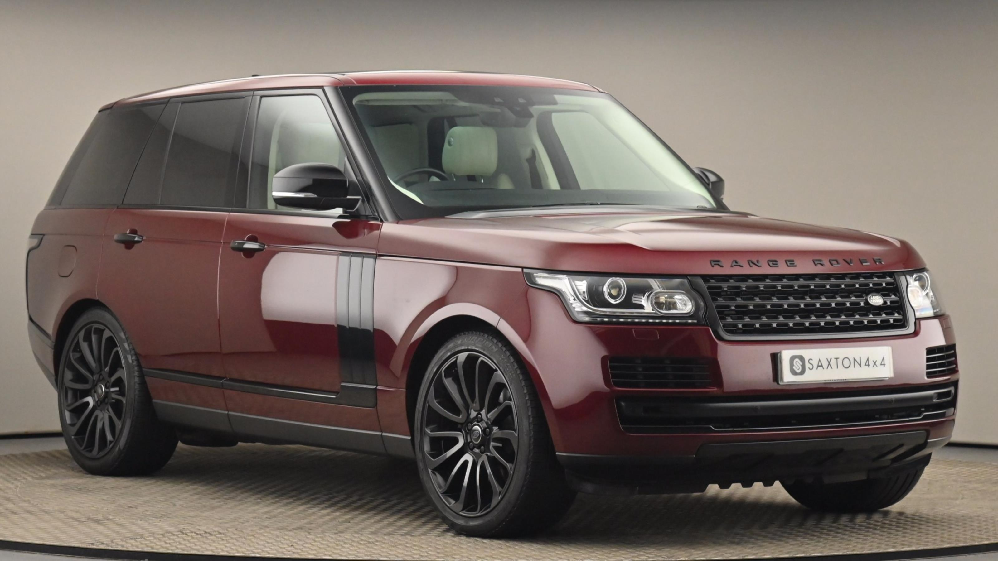 Used 2016 Land Rover RANGE ROVER 3.0 TDV6 Vogue 4dr Auto RED at Saxton4x4