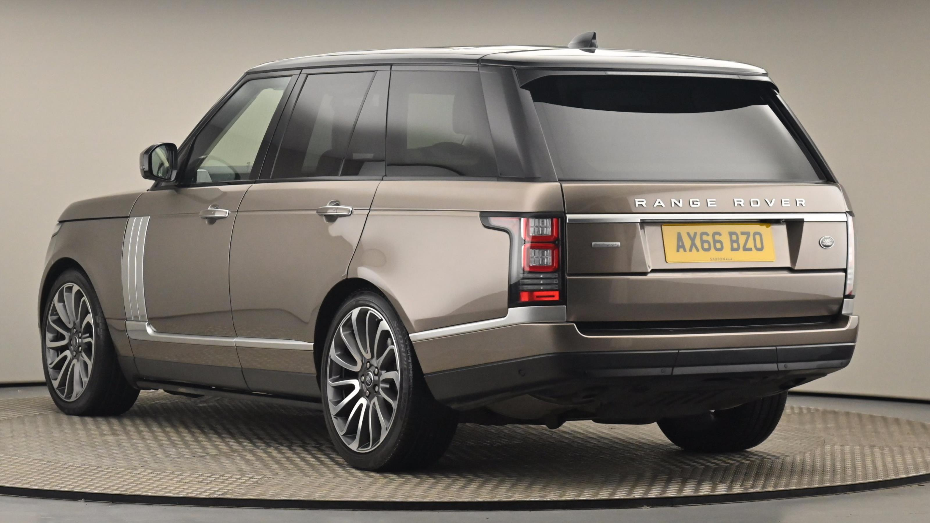 Used 2017 Land Rover RANGE ROVER 3.0 TDV6 Autobiography 4dr Auto BROWN at Saxton4x4