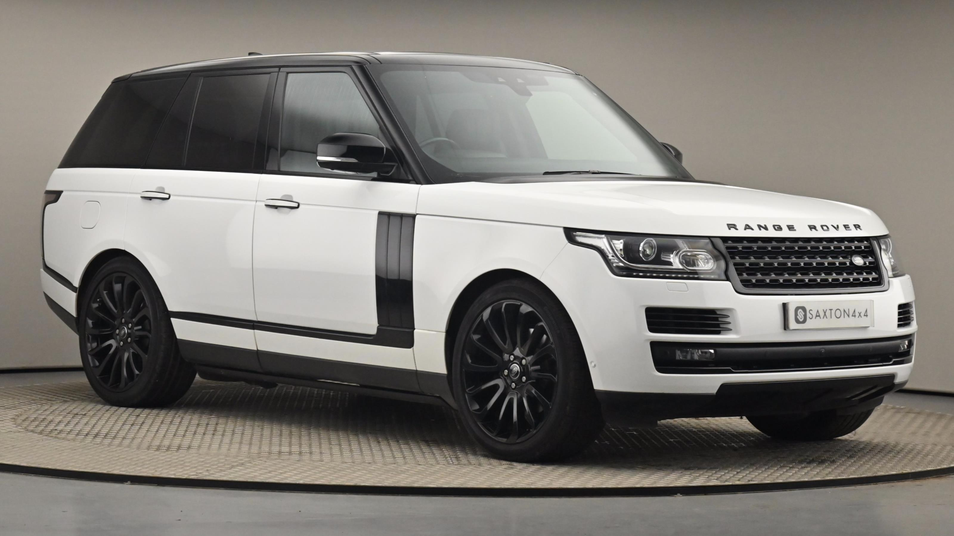 Used 2017 Land Rover RANGE ROVER 3.0 TDV6 Autobiography 4dr Auto WHITE at Saxton4x4