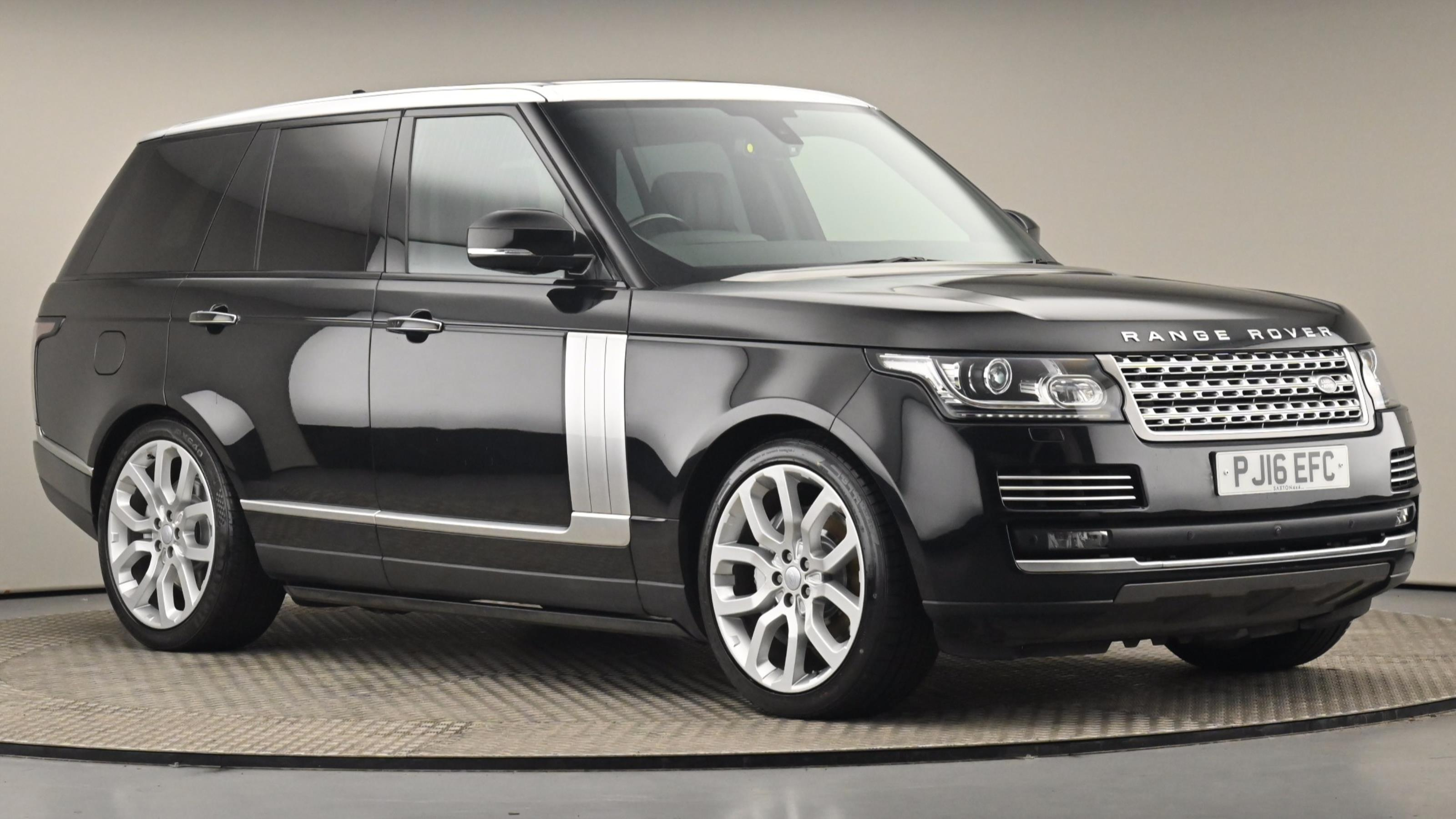 Used 2016 Land Rover RANGE ROVER 4.4 SDV8 Autobiography 4dr Auto BLACK at Saxton4x4