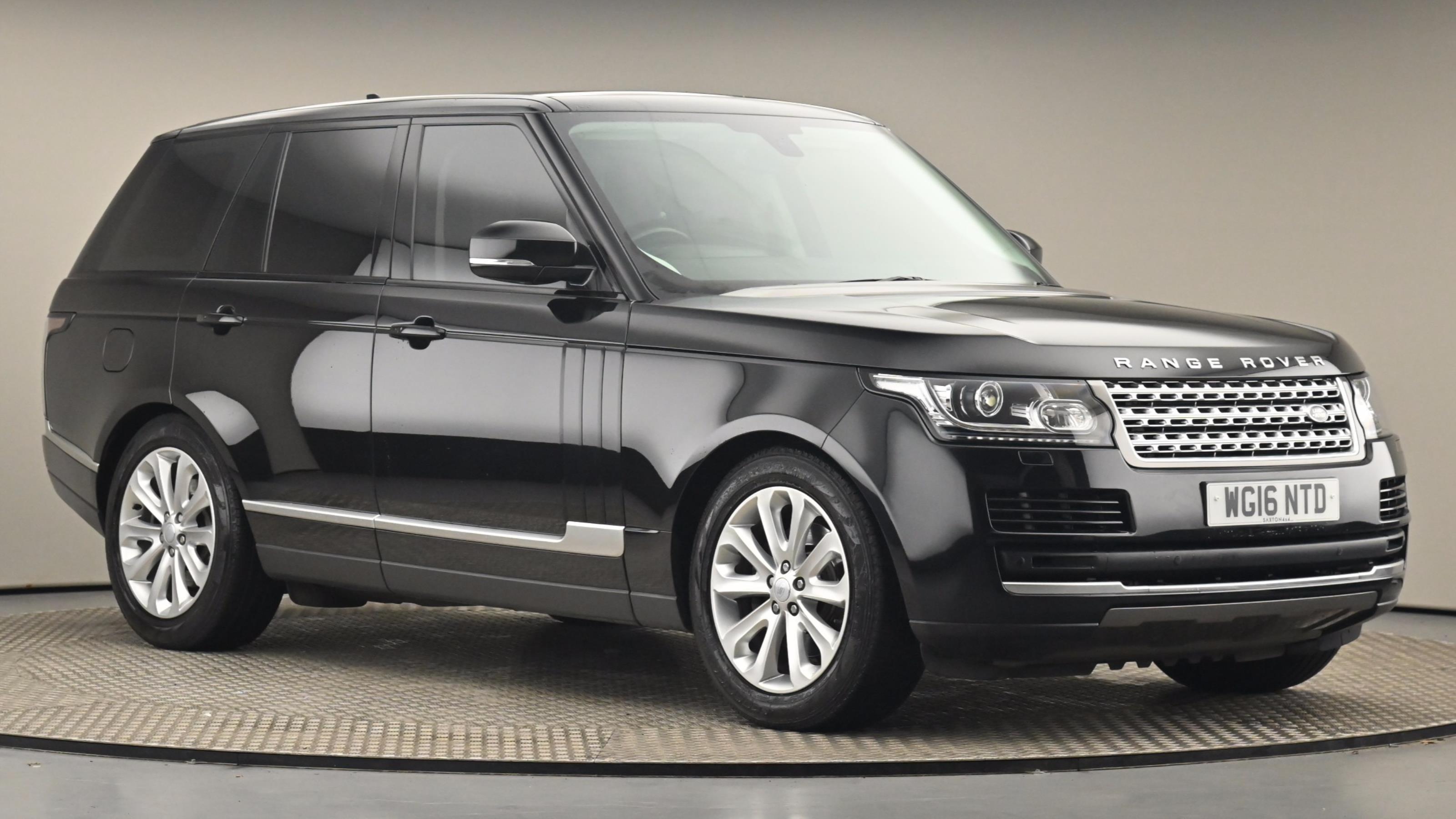 Used 2016 Land Rover RANGE ROVER 3.0 TDV6 Vogue 4dr Auto BLACK at Saxton4x4