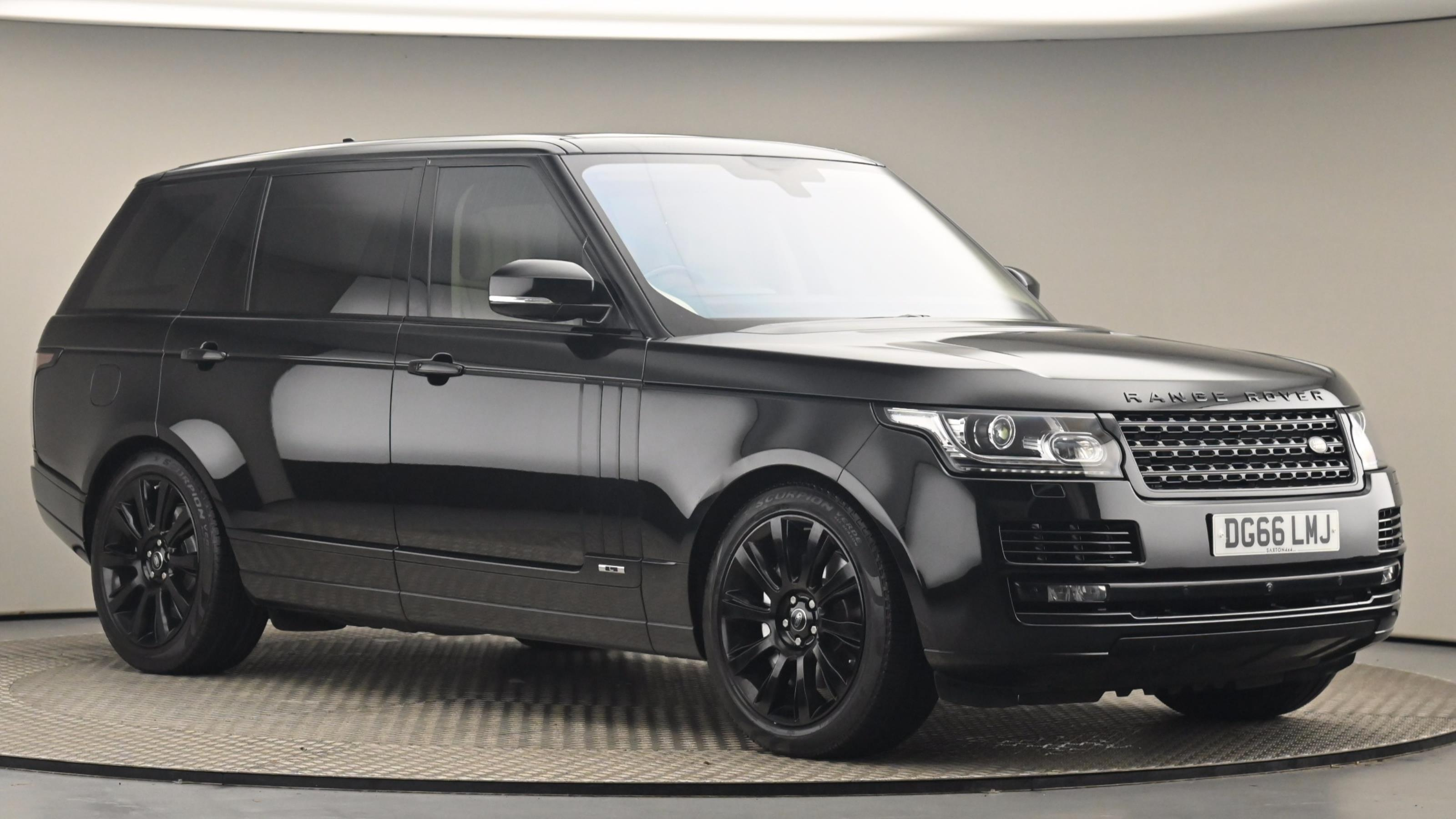 Used 2016 Land Rover Range Rover Autobio L Sdv BLACK at Saxton4x4