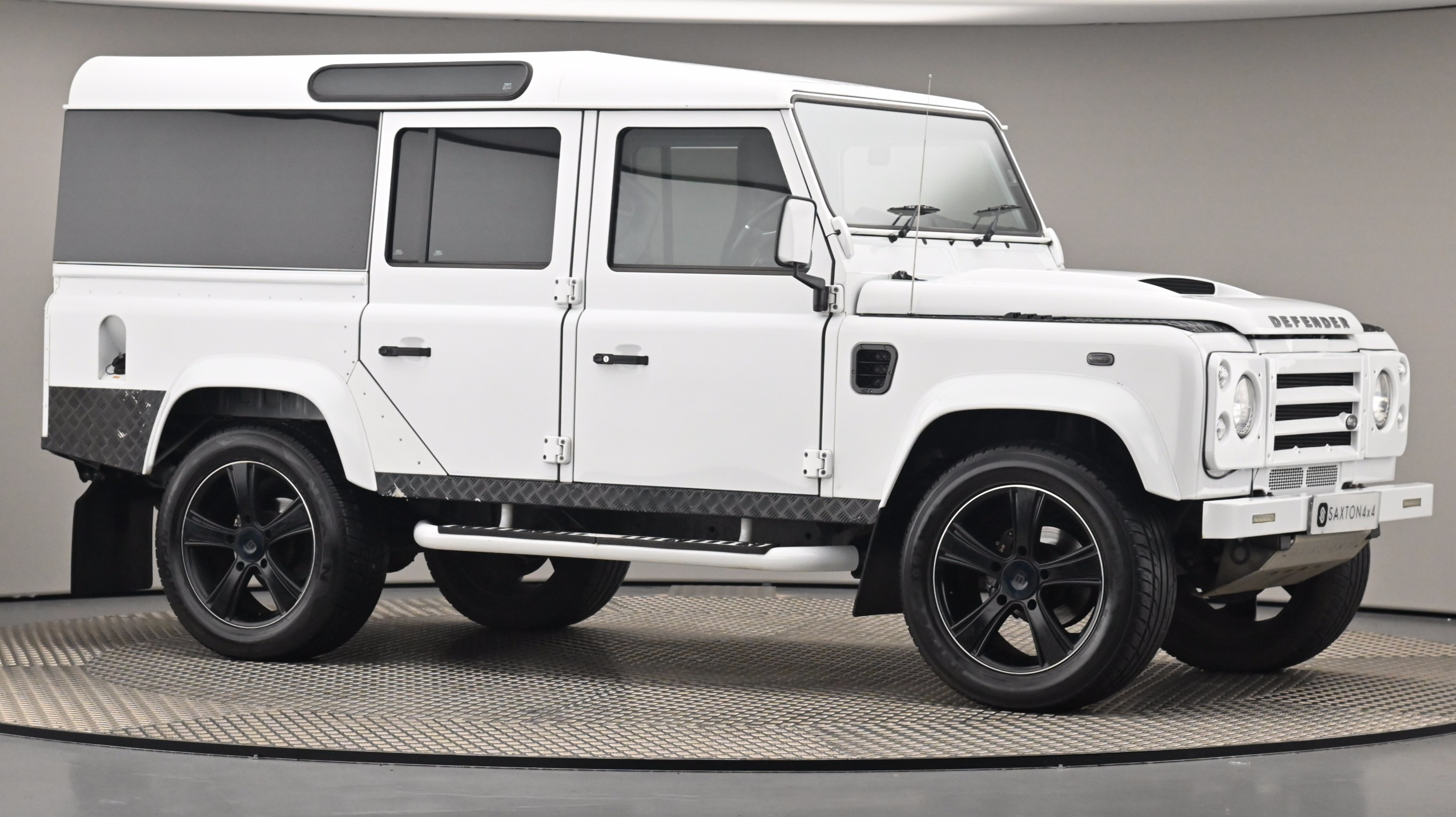 Used 2013 Land Rover DEFENDER 110 2.2 D DPF County Station Wagon WHITE at Saxton4x4