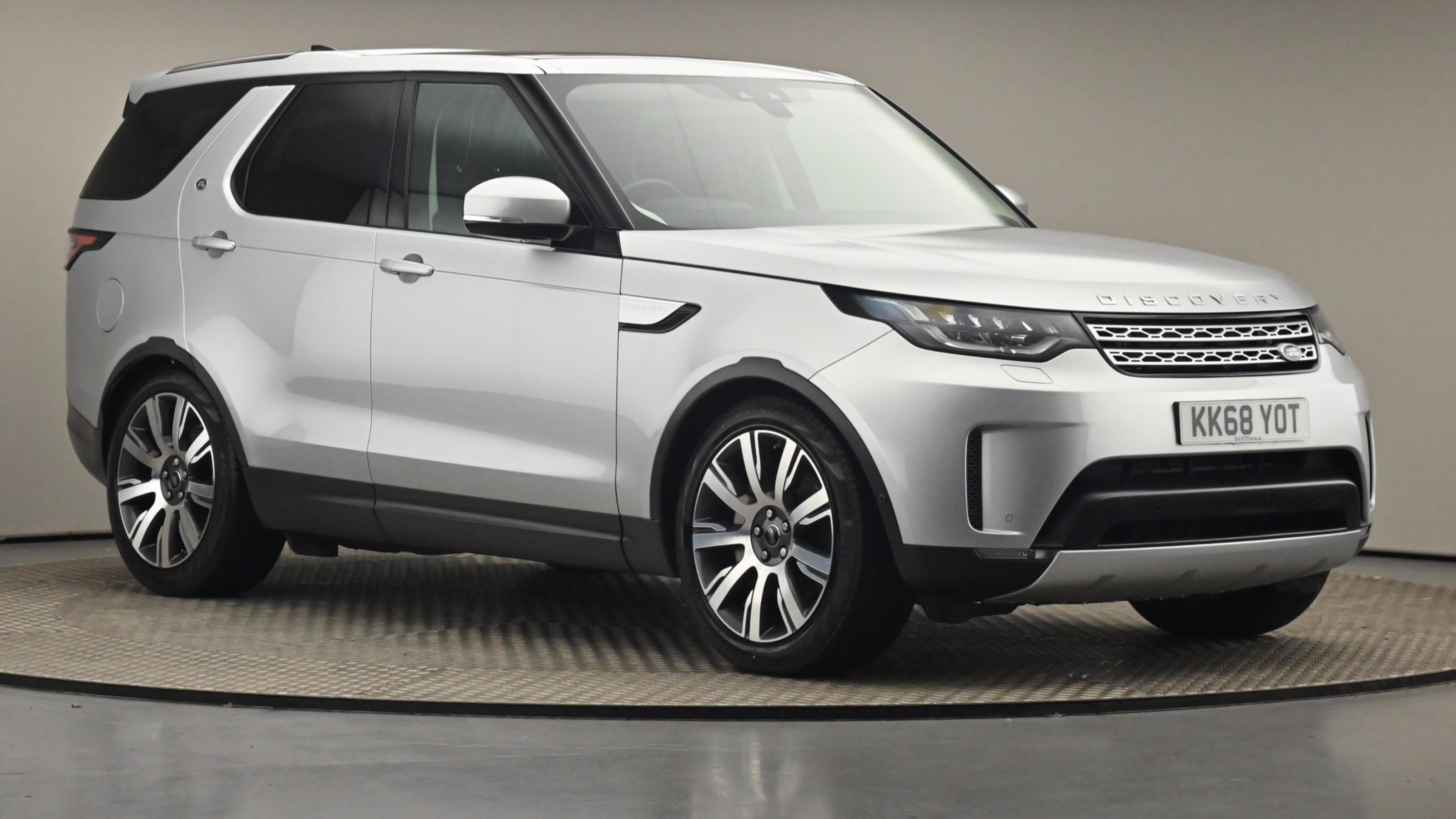 Used 2019 Land Rover DISCOVERY 3.0 SDV6 HSE Luxury 5dr Auto SILVER at Saxton4x4