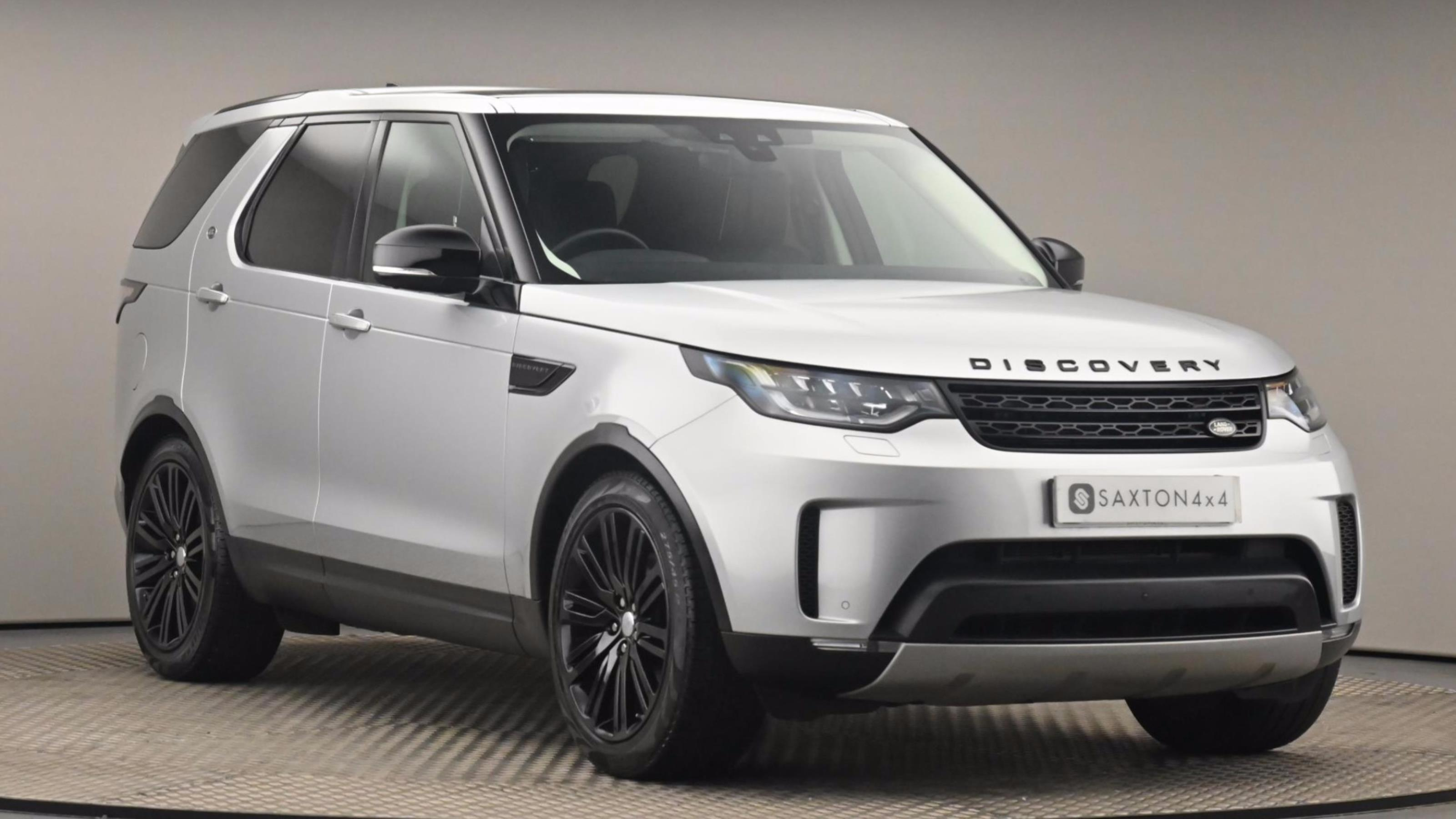 Used 2018 Land Rover DISCOVERY 3.0 TD6 HSE Luxury 5dr Auto Silver at Saxton4x4