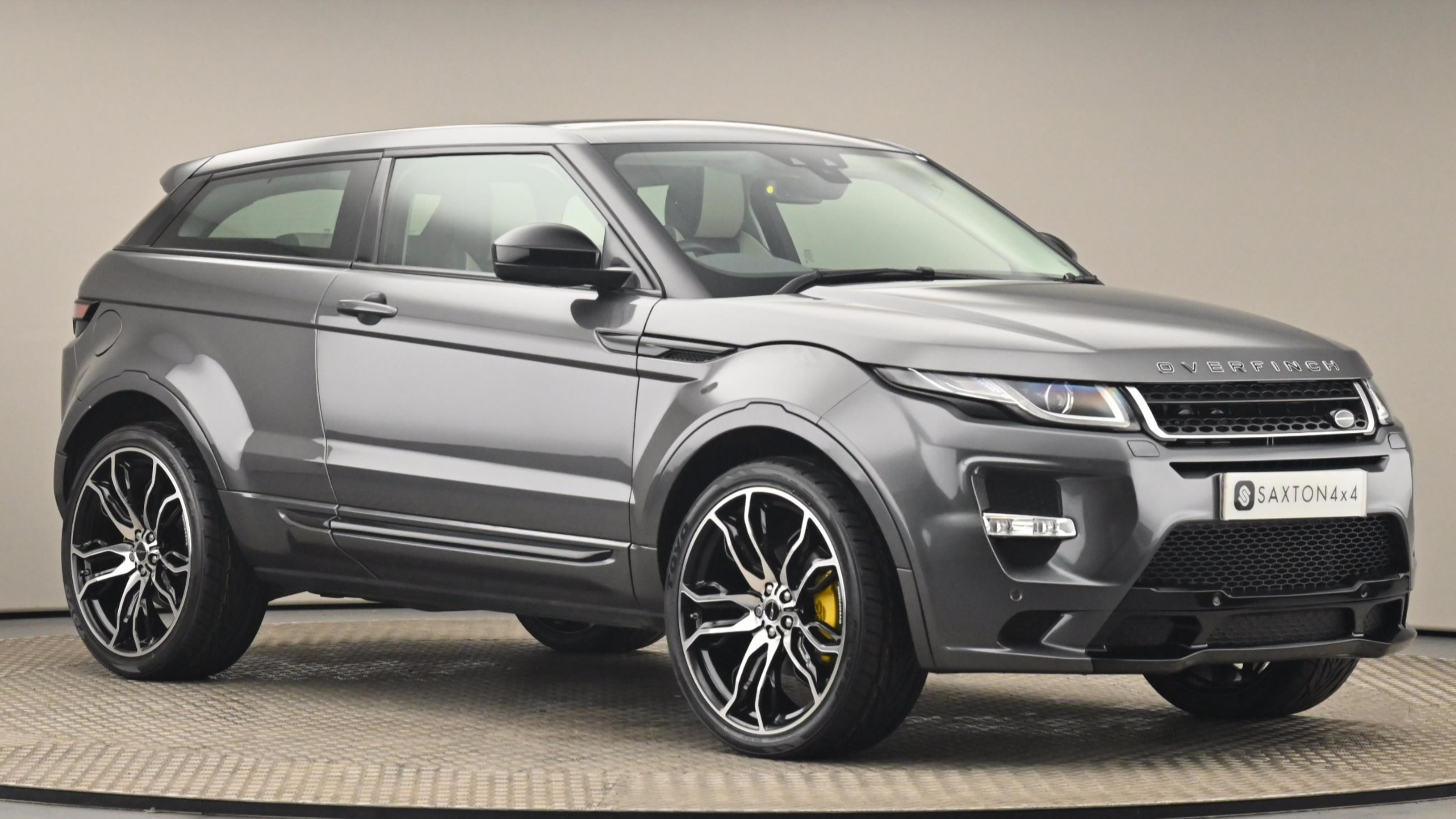 Used 2016 Land Rover RANGE ROVER EVOQUE 2.0 TD4 SE Tech 3dr Auto at Saxton4x4