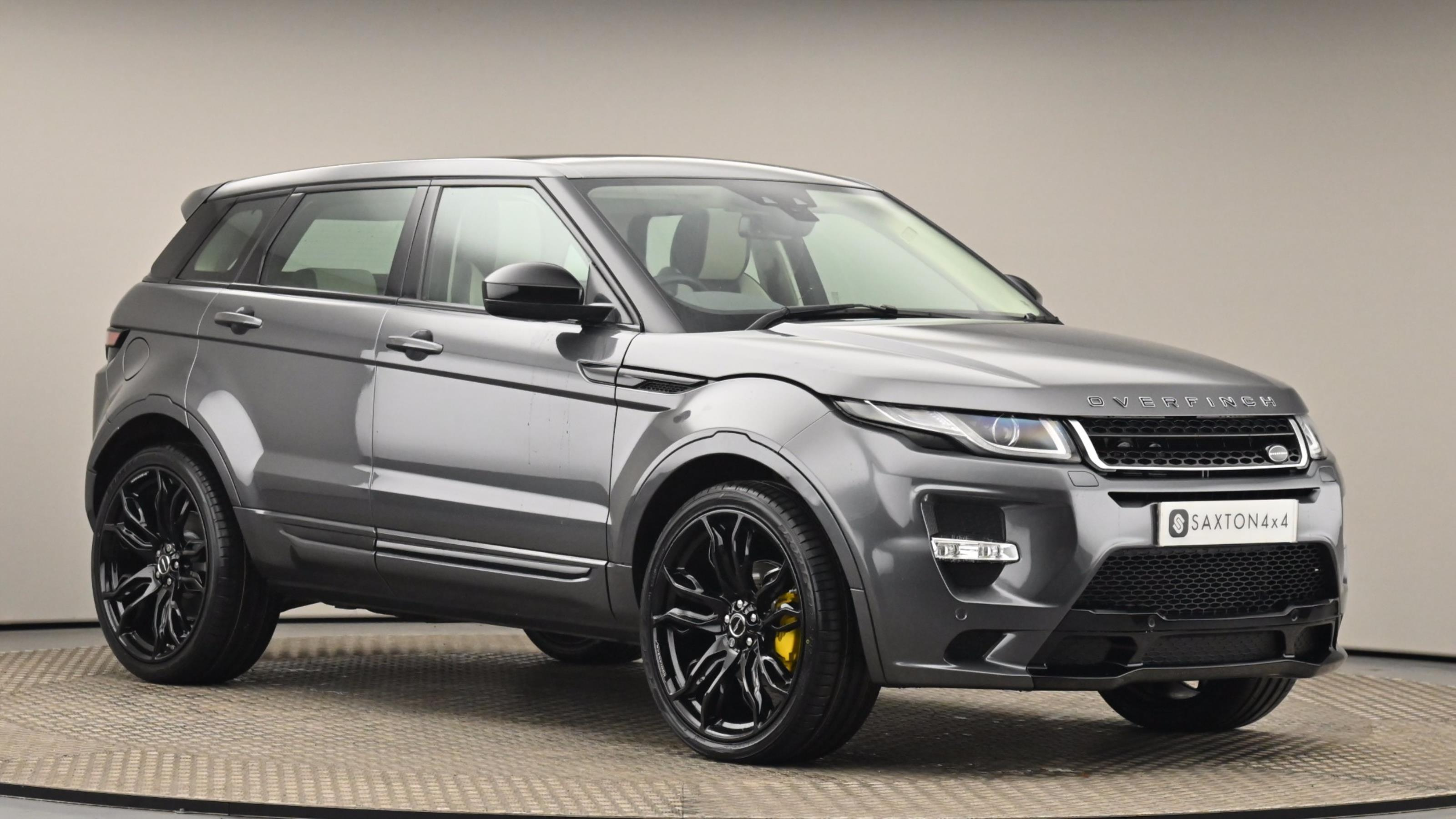 Used 2015 Land Rover RANGE ROVER EVOQUE 2.0 TD4 SE Tech 5dr Auto at Saxton4x4