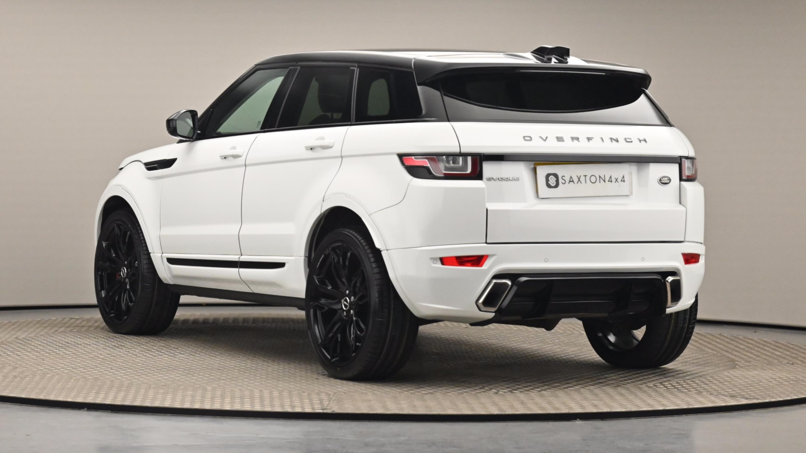 Used 2016 Land Rover RANGE ROVER EVOQUE 2.0 TD4 SE Tech 5dr Auto WHITE at Saxton4x4