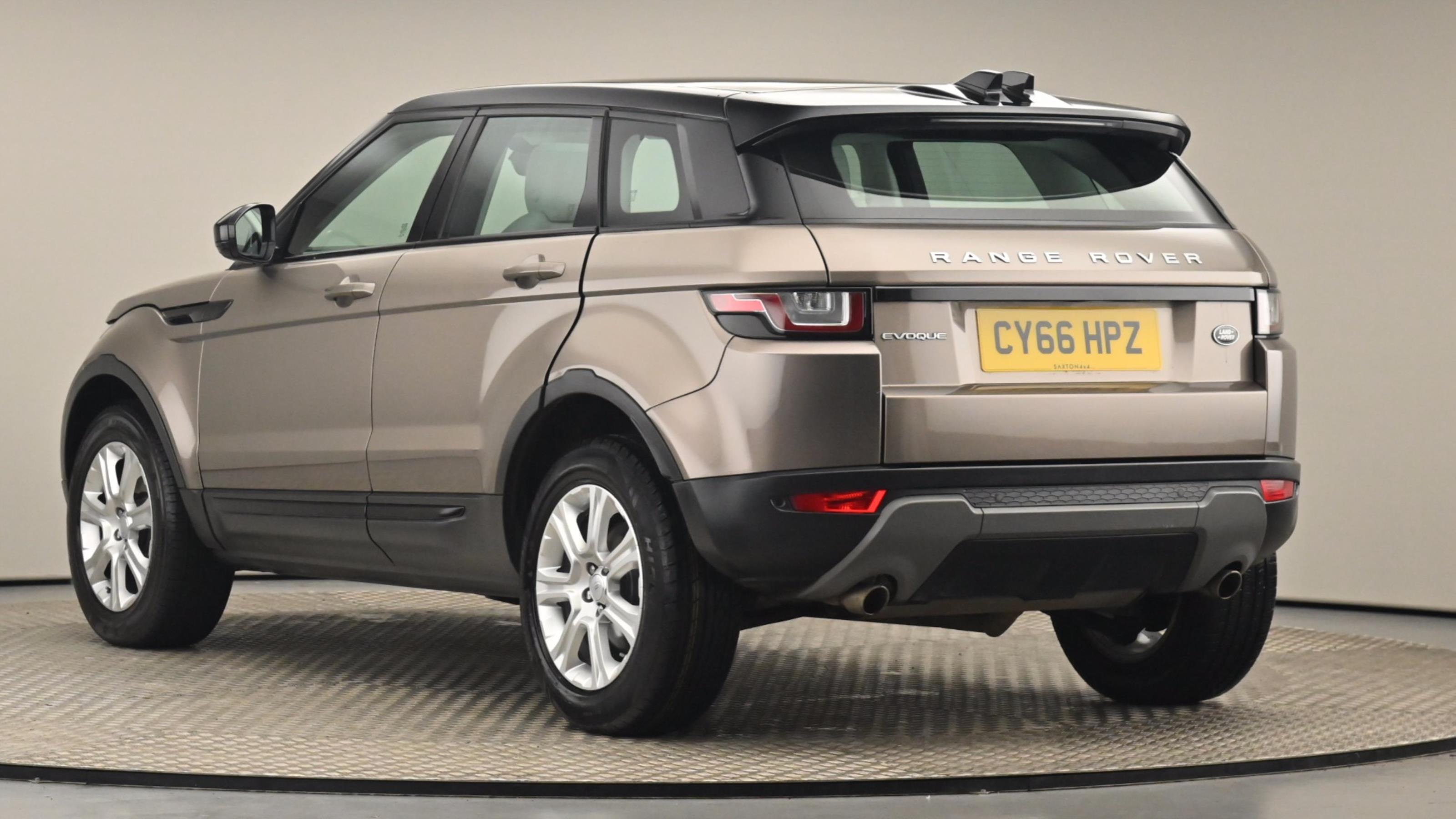 Used 2017 Land Rover RANGE ROVER EVOQUE 2.0 TD4 SE Tech 5dr Auto BROWN at Saxton4x4
