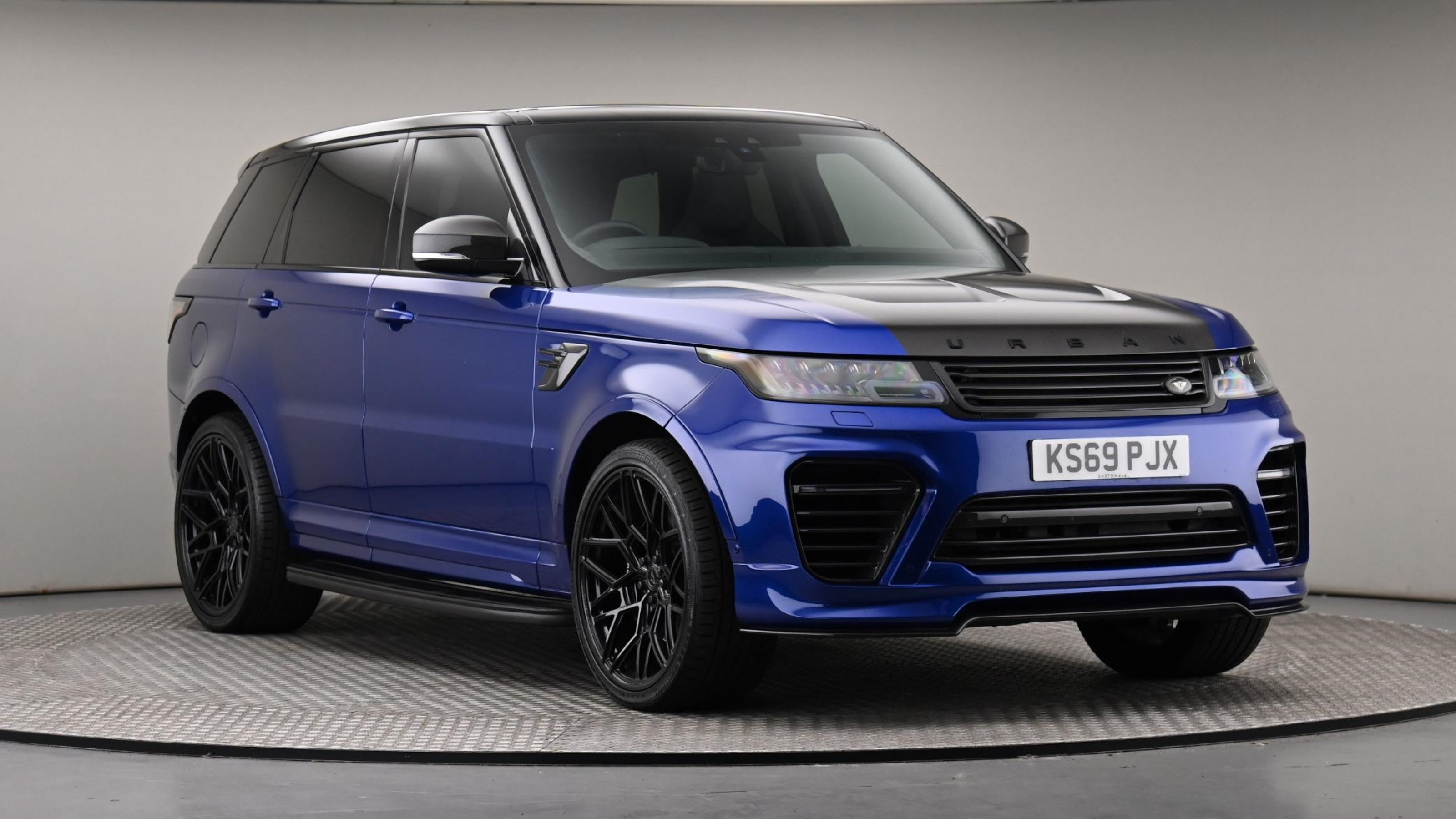 Used 2020 Land Rover RANGE ROVER SPORT 5.0 V8 S/C 575 SVR 5dr Auto BLUE at Saxton4x4