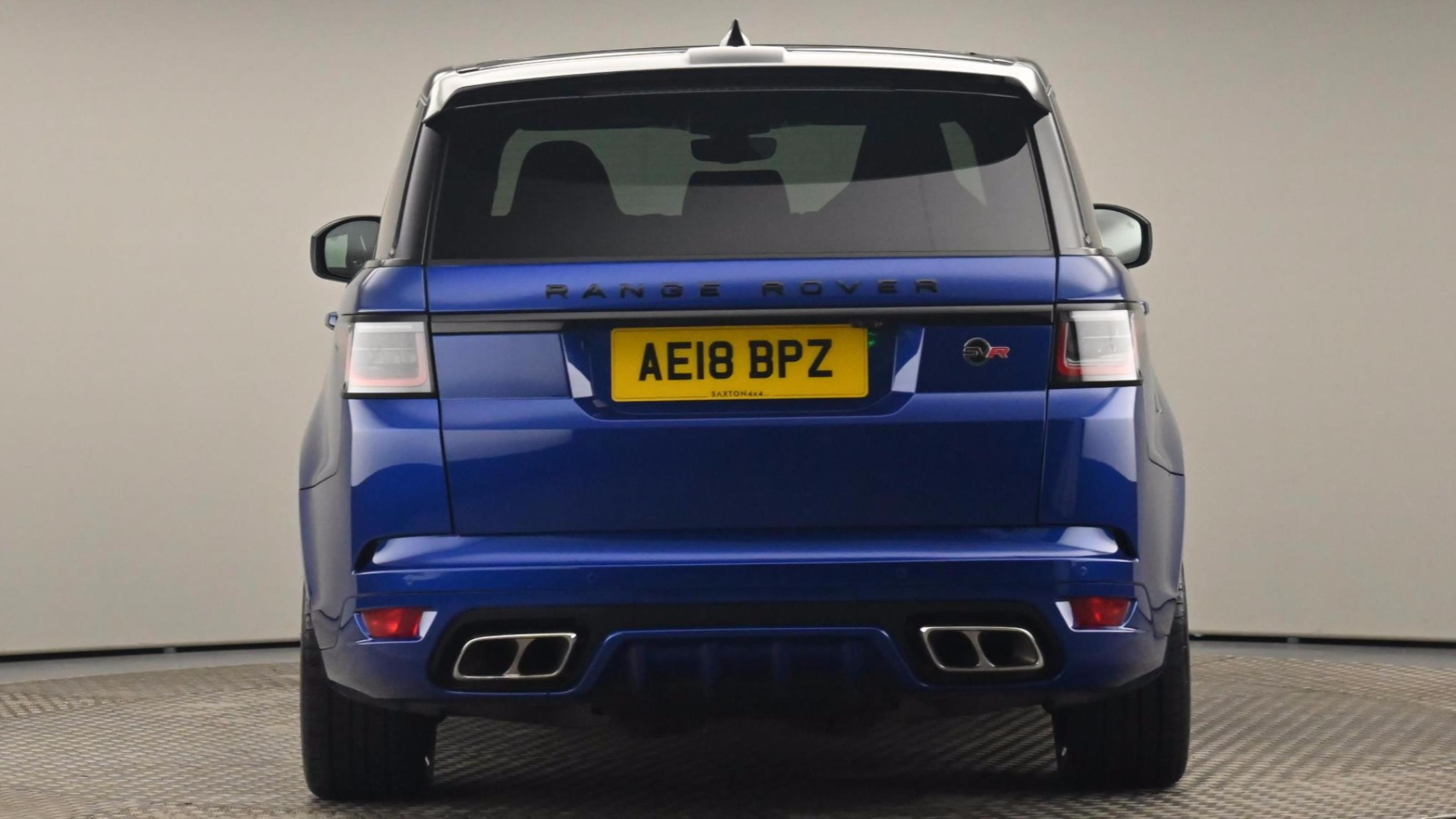 Used 2018 Land Rover RANGE ROVER SPORT 5.0 V8 S/C 575 SVR 5dr Auto           at Saxton4x4
