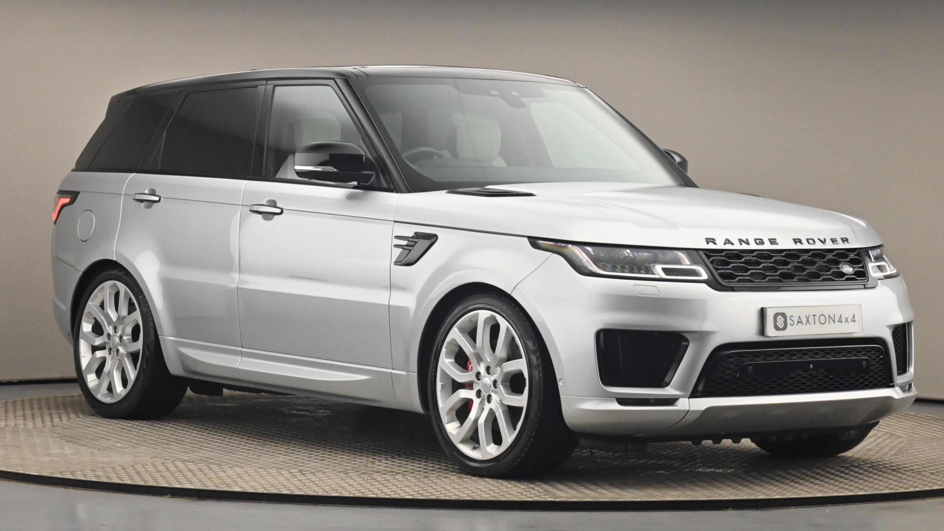Used 2018 Land Rover RANGE ROVER SPORT 4.4 SDV8 Autobiography Dynamic 5dr Auto SILVER at Saxton4x4