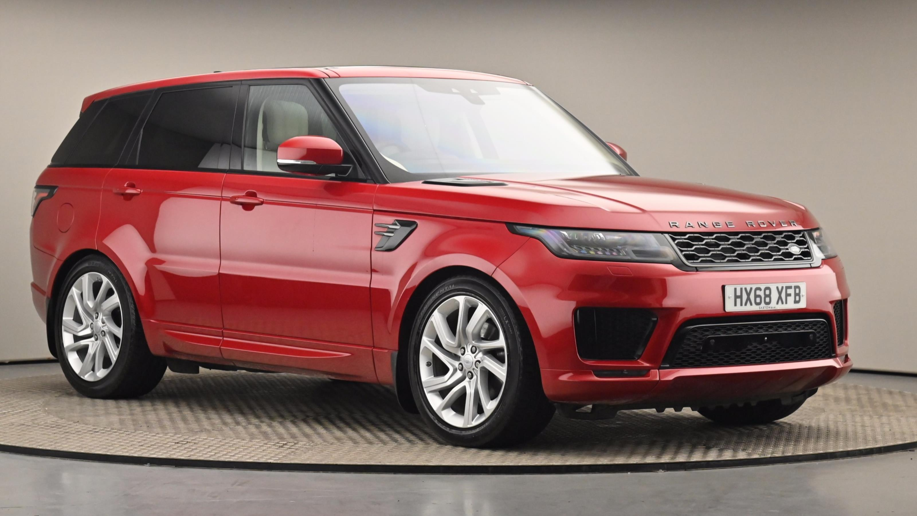 Used 2018 Land Rover RANGE ROVER SPORT 3.0 SDV6 HSE Dynamic 5dr Auto RED at Saxton4x4