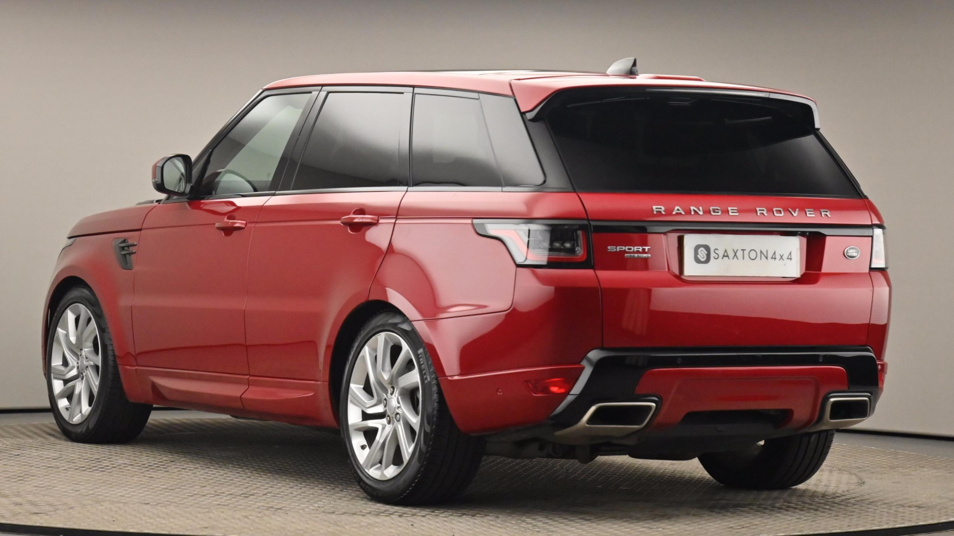Used 2018 Land Rover RANGE ROVER SPORT 3.0 SDV6 HSE Dynamic 5dr Auto [7 Seat] RED at Saxton4x4