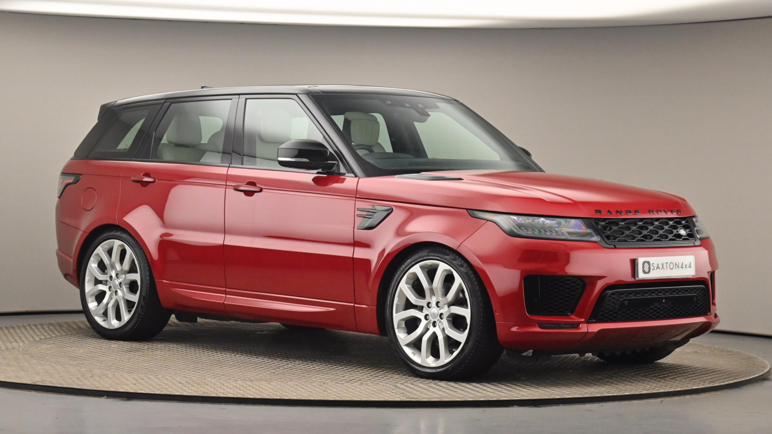Used 2018 Land Rover RANGE ROVER SPORT 3.0 SDV6 Autobiography Dynamic 5dr Auto RED at Saxton4x4