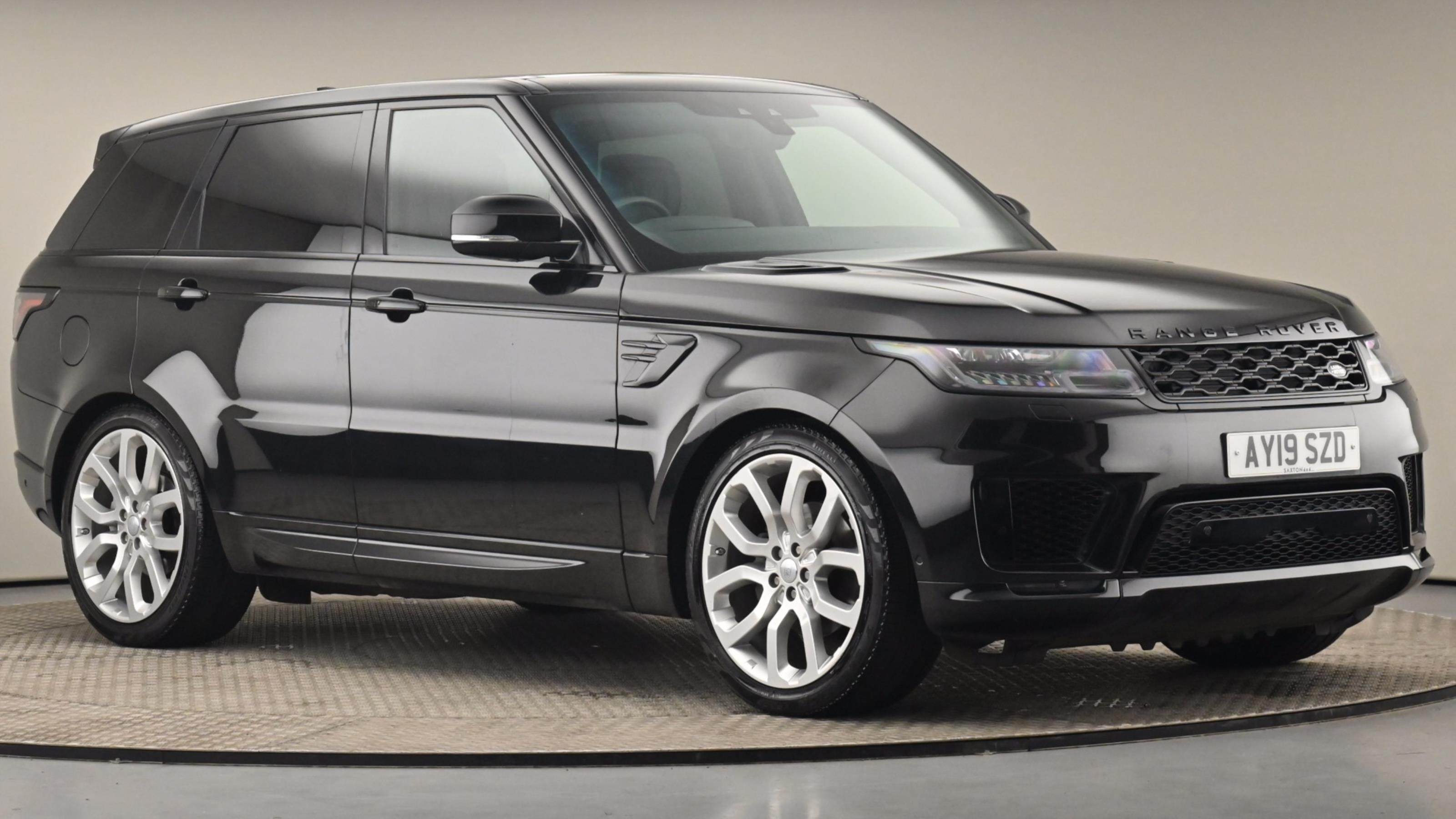 Used 2019 Land Rover RANGE ROVER SPORT 3.0 SDV6 Autobiography Dynamic 5dr Auto BLACK at Saxton4x4