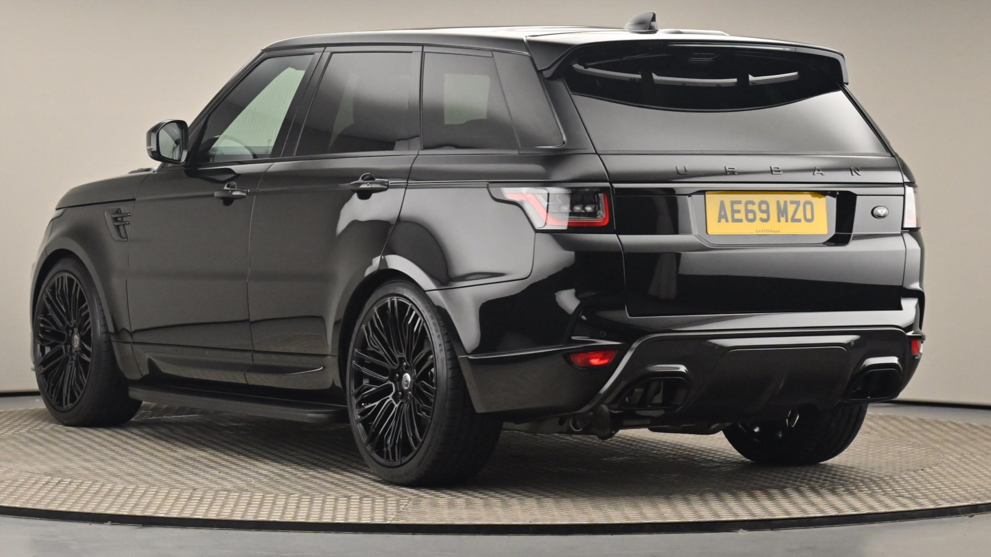 Used 2019 Land Rover RANGE ROVER SPORT 3.0 SDV6 HSE 5dr Auto BLACK at Saxton4x4