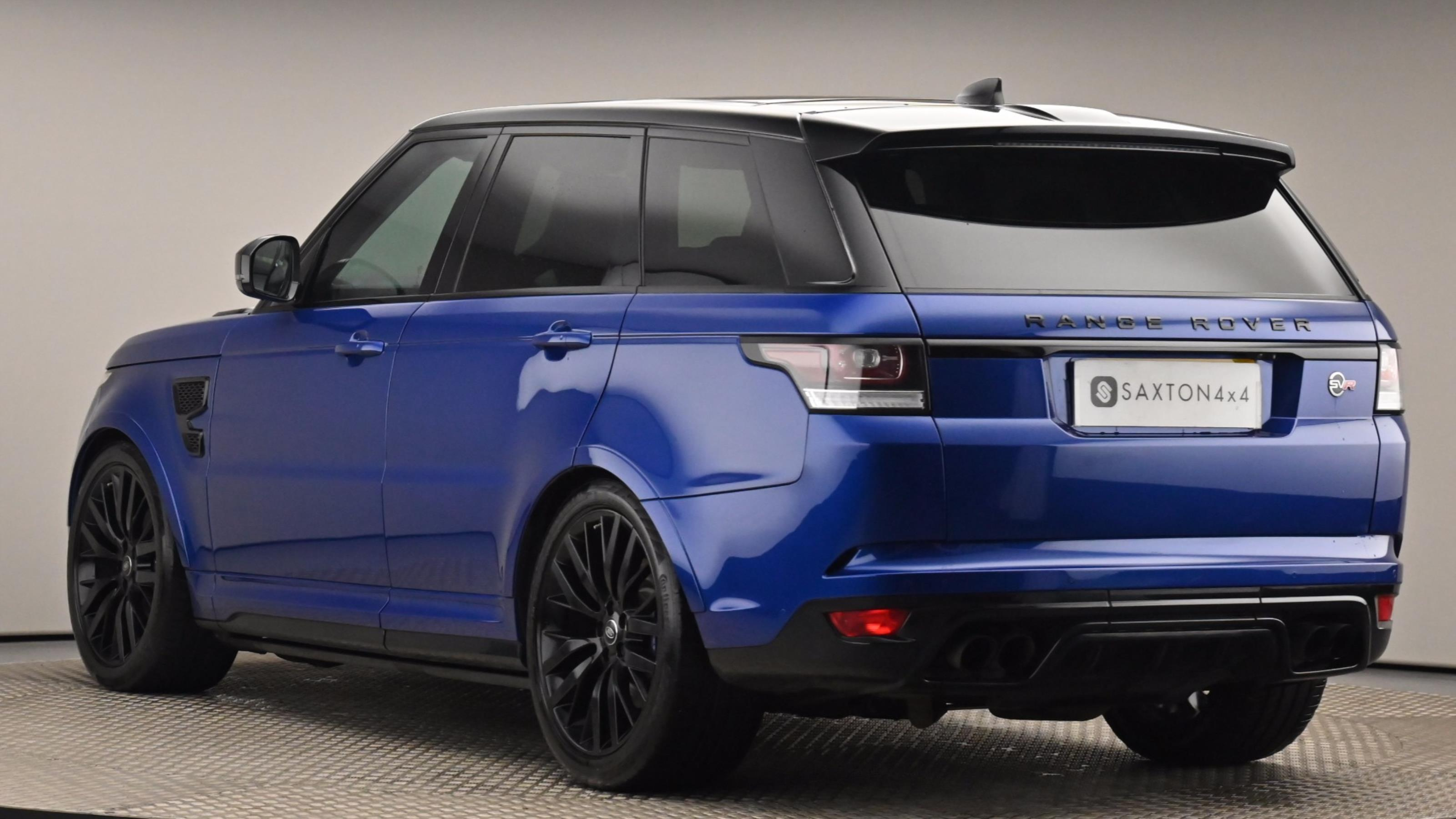 Used 2017 Land Rover RANGE ROVER SPORT 5.0 V8 S/C SVR 5dr Auto BLUE at Saxton4x4