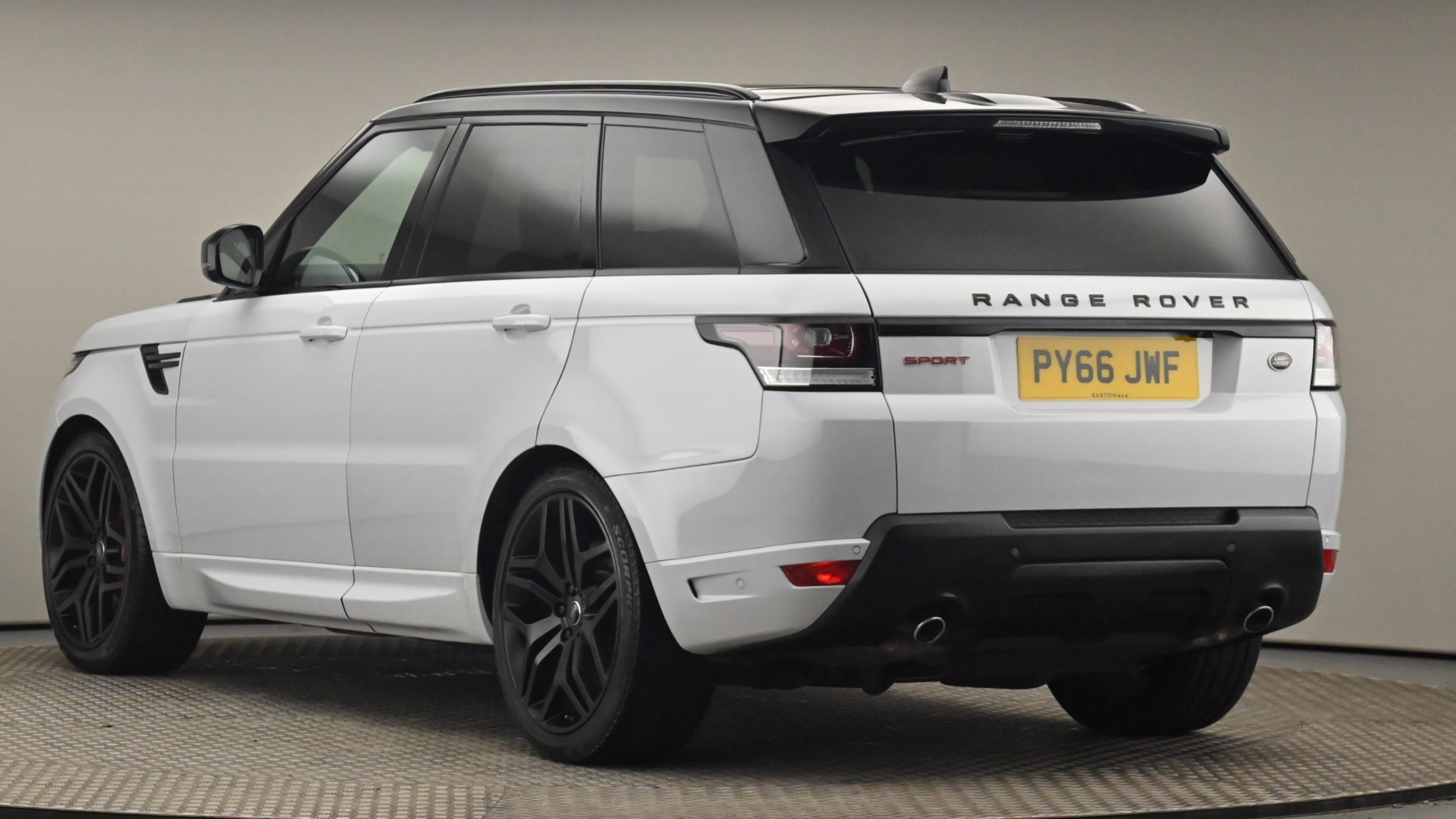 Used 2017 Land Rover RANGE ROVER SPORT 3.0 SDV6 [306] Autobiography Dynamic 5dr Auto WHITE at Saxton4x4