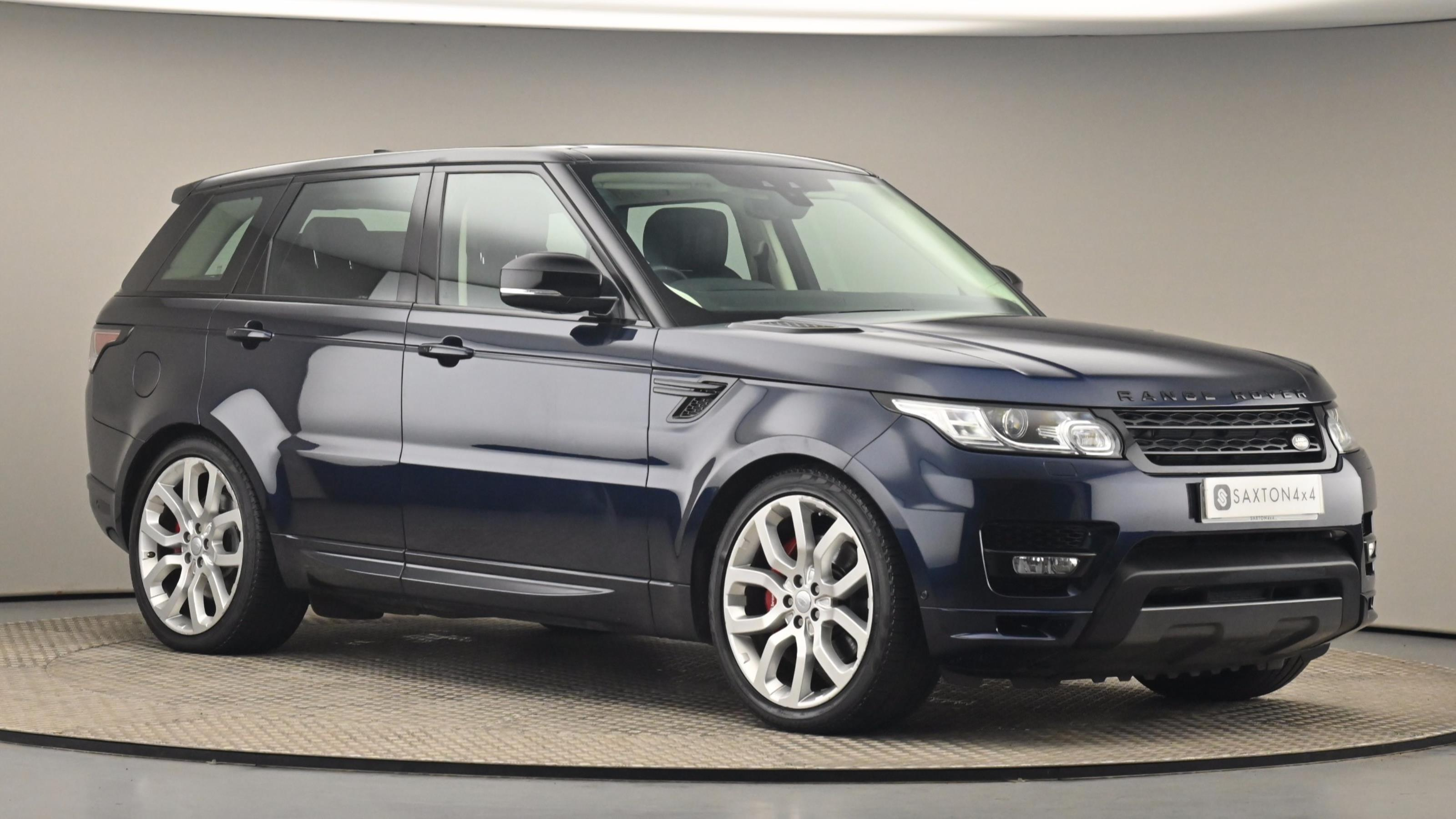 Used 2017 Land Rover RANGE ROVER SPORT 3.0 SDV6 [306] Autobiography Dynamic 5dr Auto BLUE at Saxton4x4