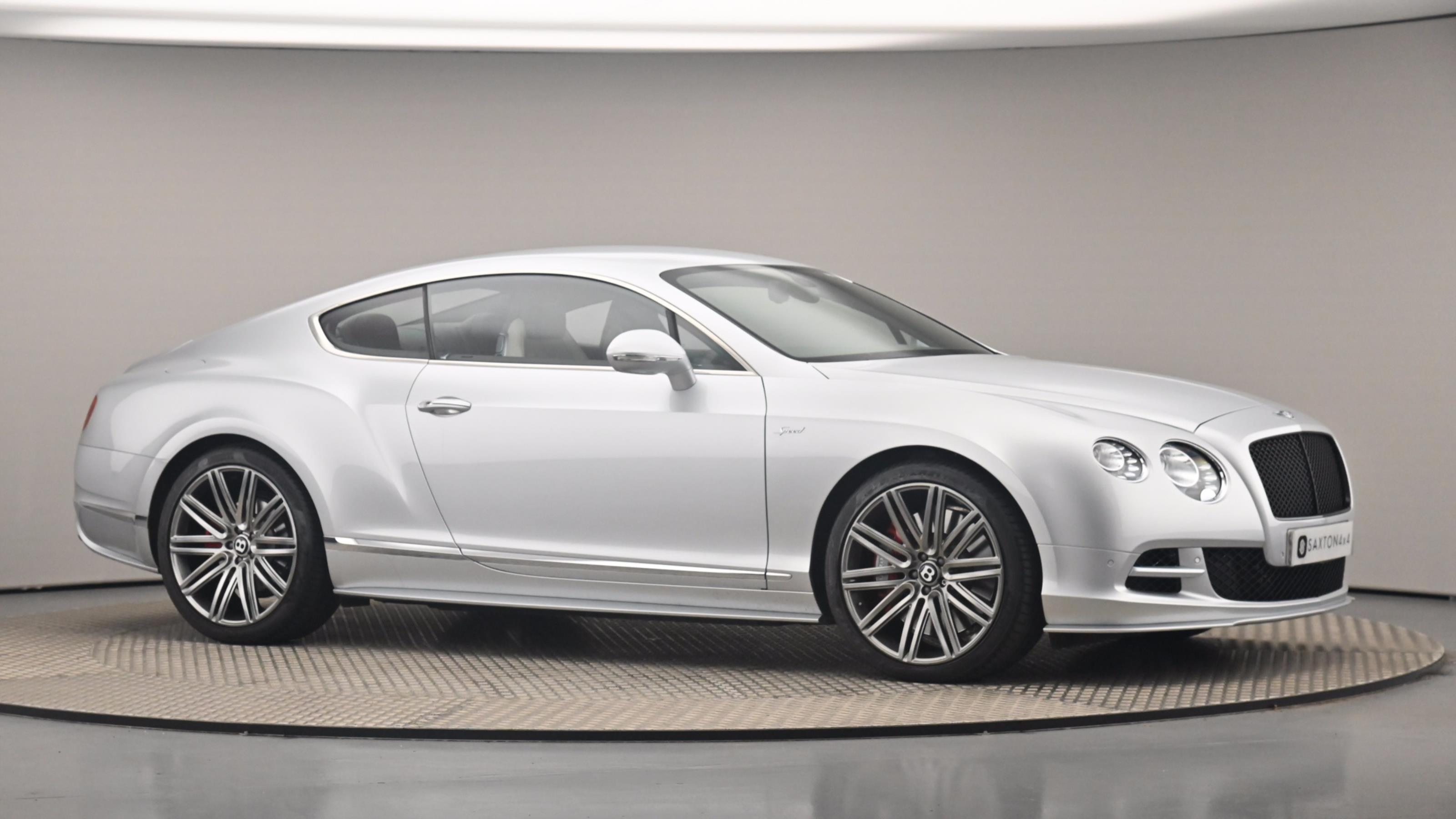 Used 2017 Bentley CONTINENTAL GT 6.0 W12 Speed 2dr Auto Grey at Saxton4x4