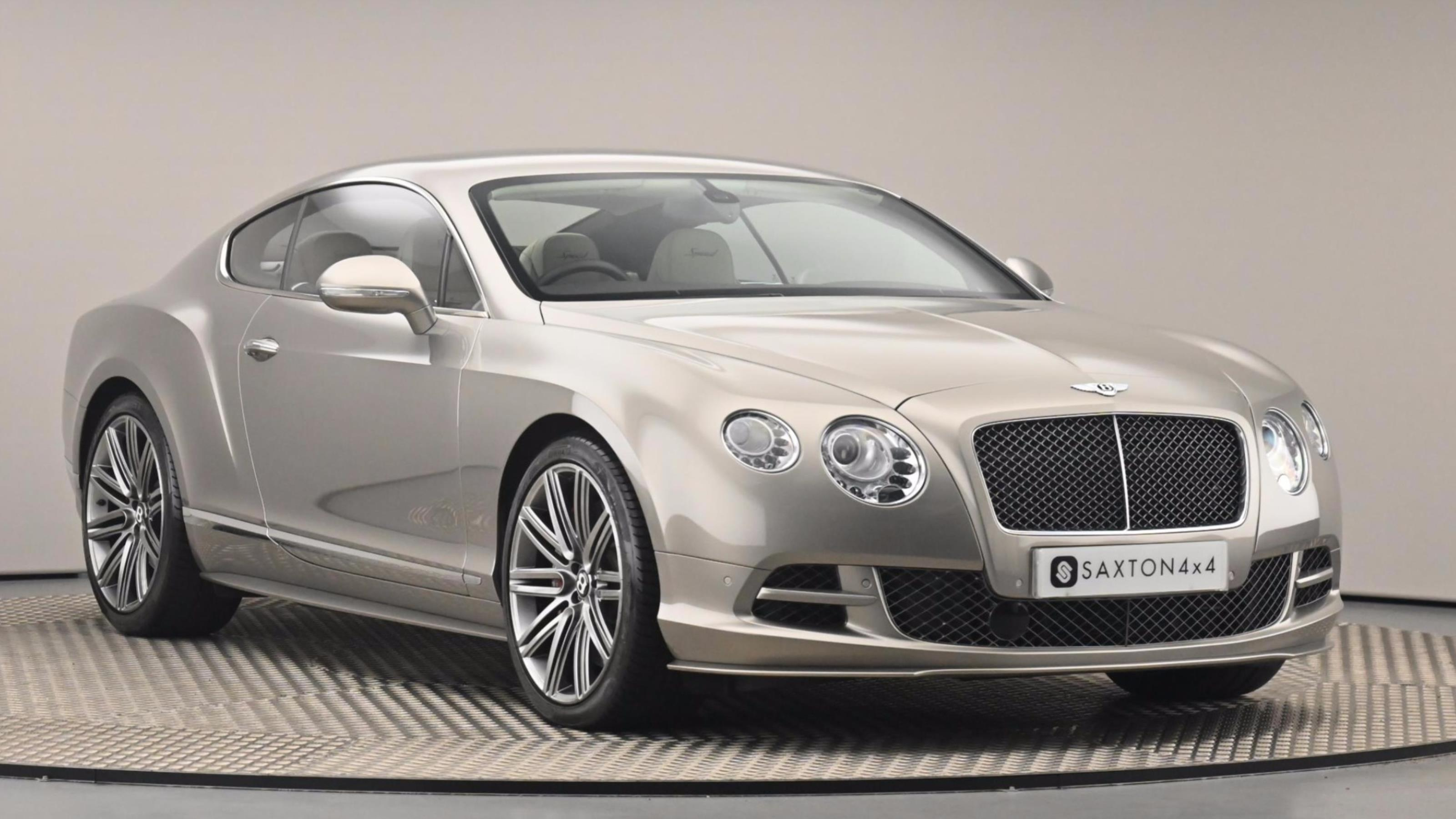 Used 2014 Bentley CONTINENTAL GT 6.0 W12 [635] Speed 2dr Auto GREY at Saxton4x4