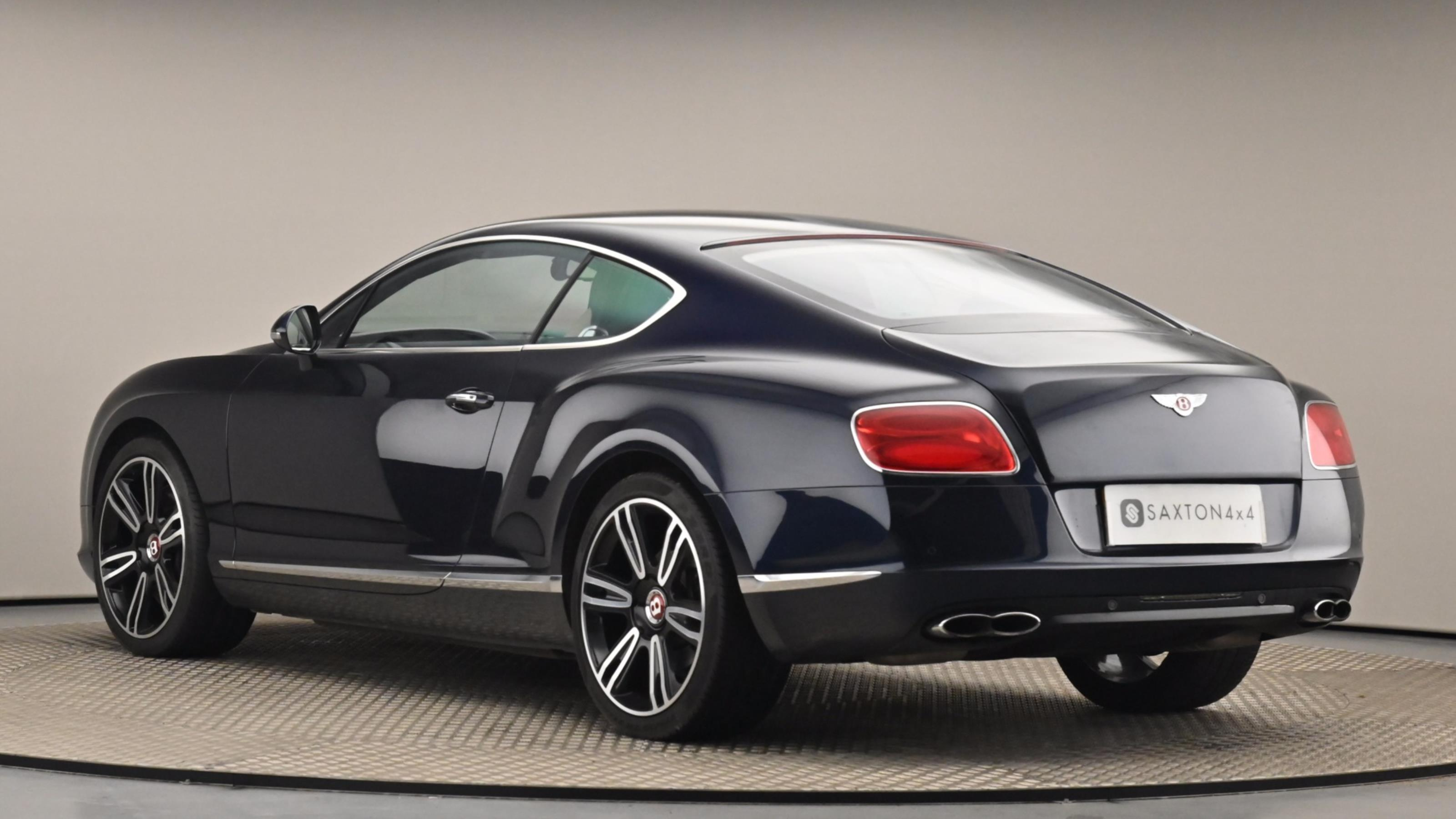 Used 2013 Bentley CONTINENTAL GT 4.0 V8 2dr Auto BLUE at Saxton4x4