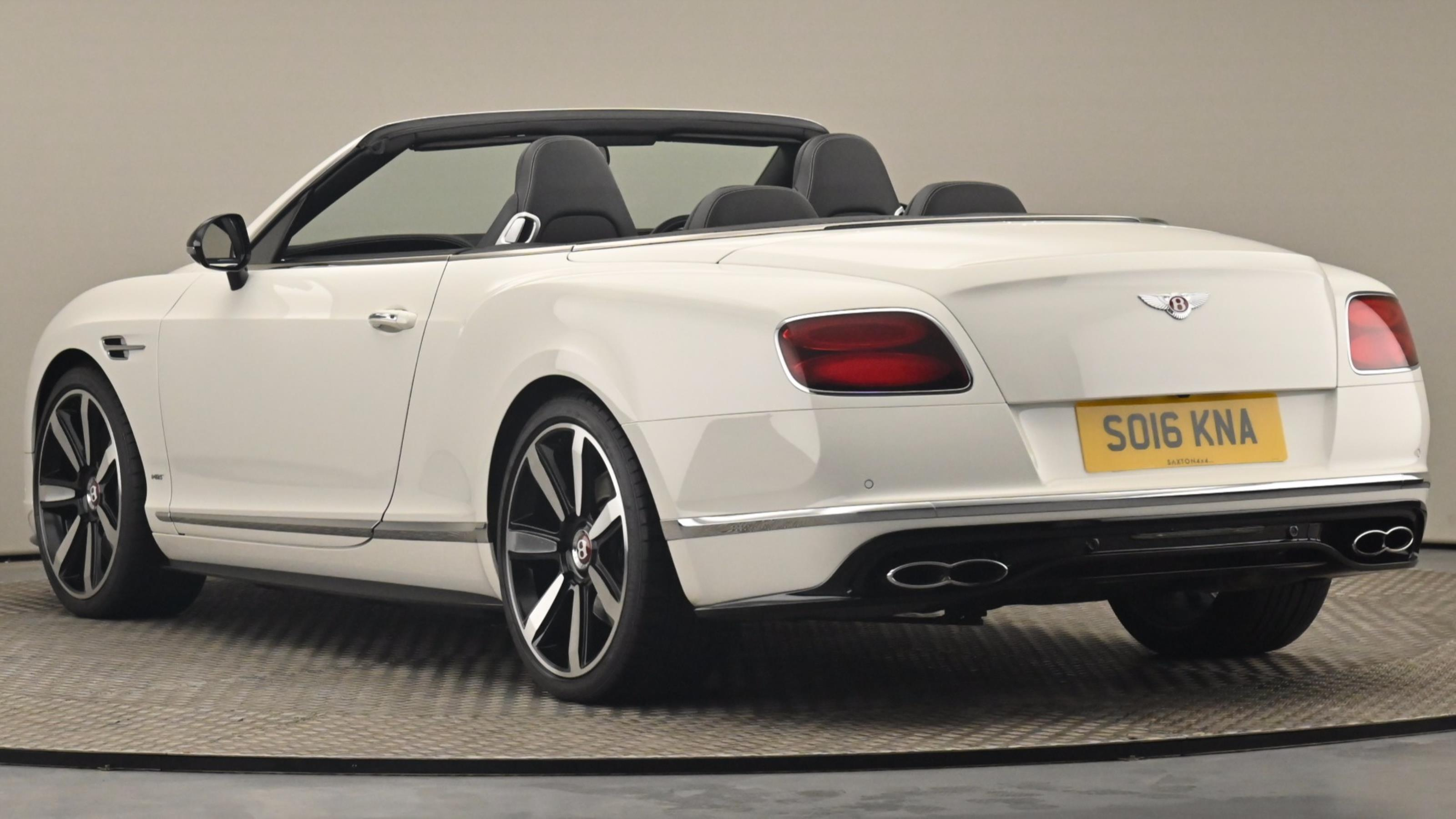 Used 2016 Bentley CONTINENTAL GTC 4.0 V8 S Mulliner Driving Spec 2dr Auto WHITE at Saxton4x4