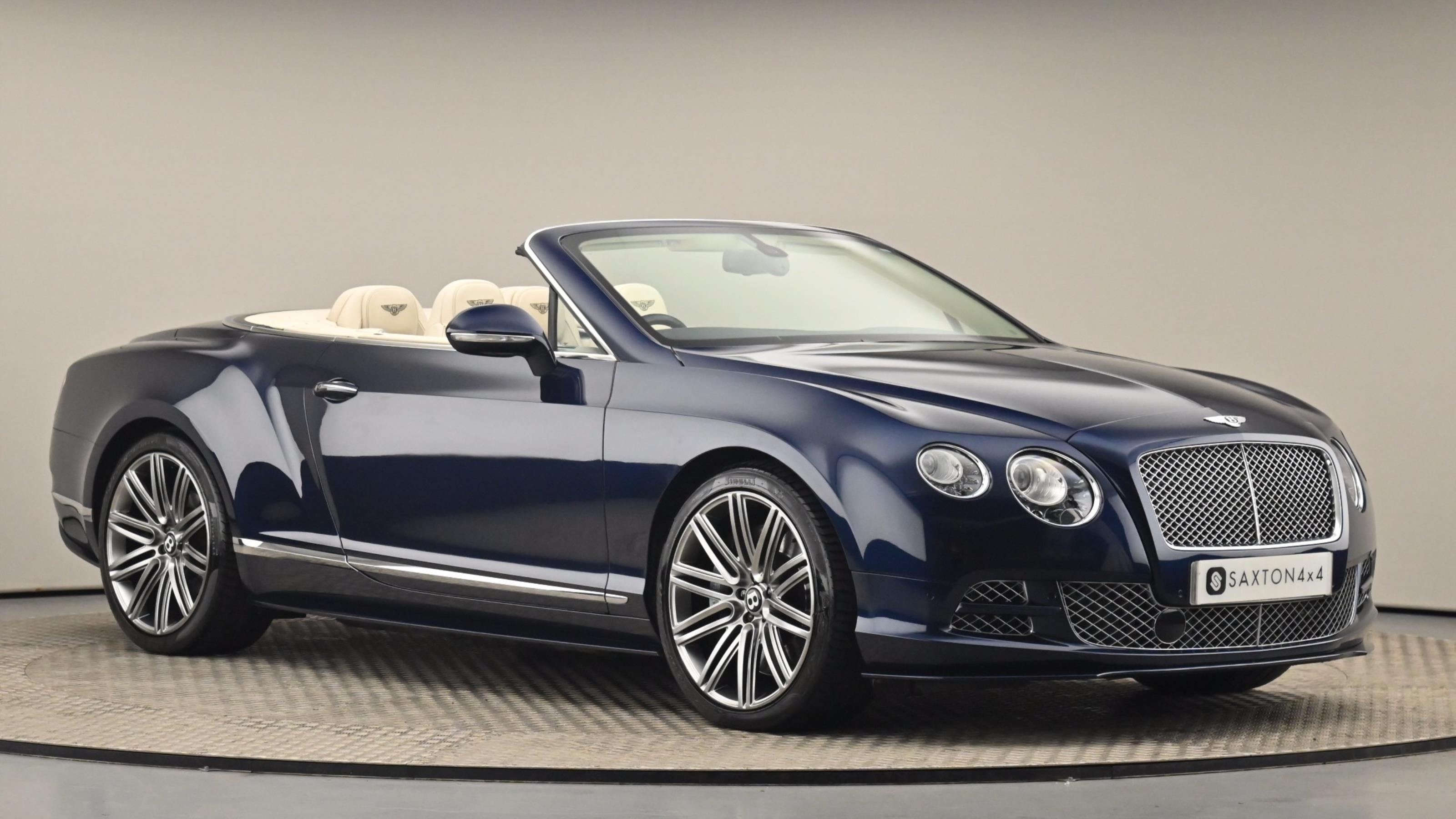 Used 2015 Bentley CONTINENTAL GTC 6.0 W12 Speed 2dr Auto BLUE at Saxton4x4