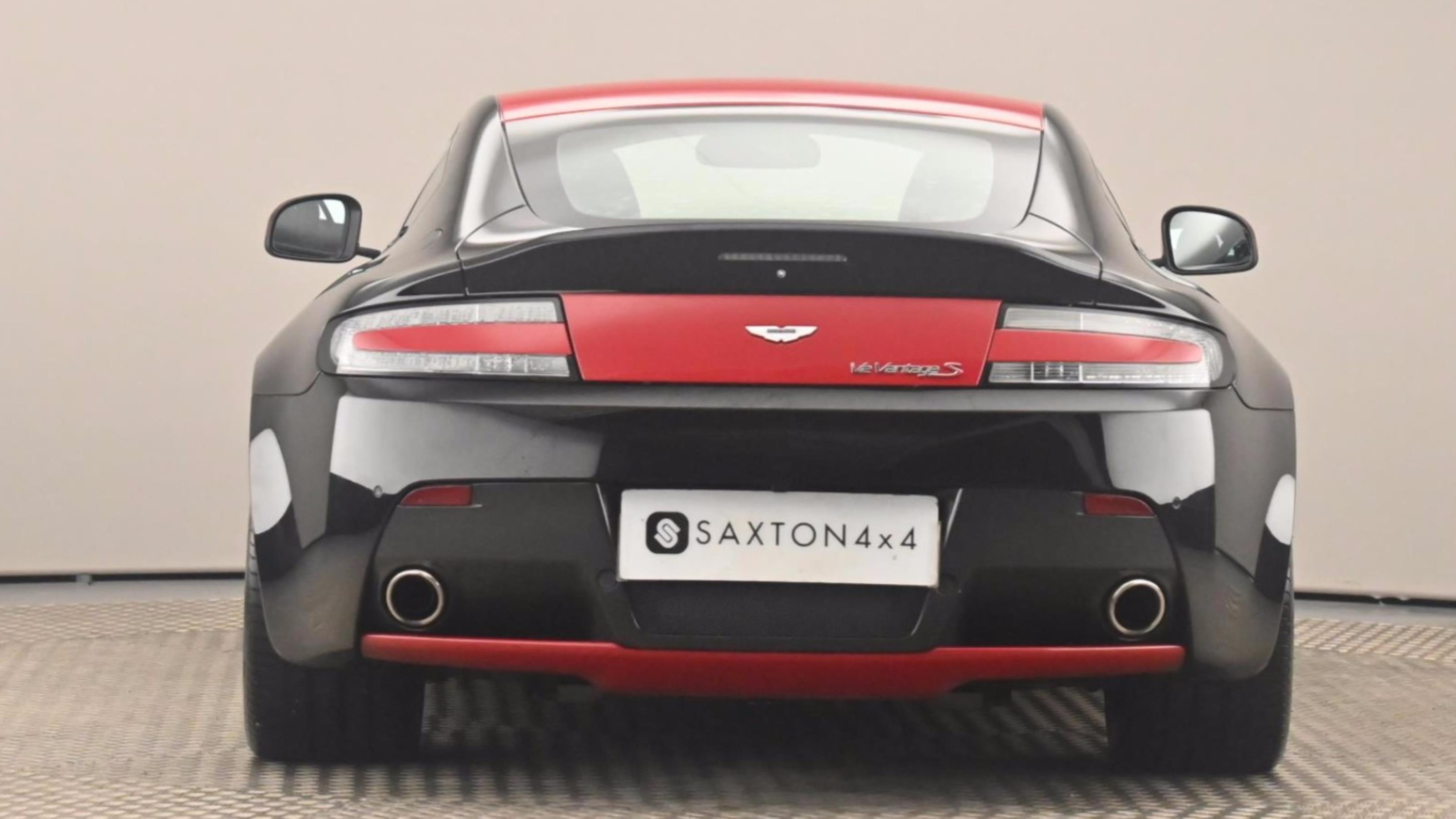 Used 2014 Aston Martin VANTAGE S 2dr Sportshift III Black at Saxton4x4